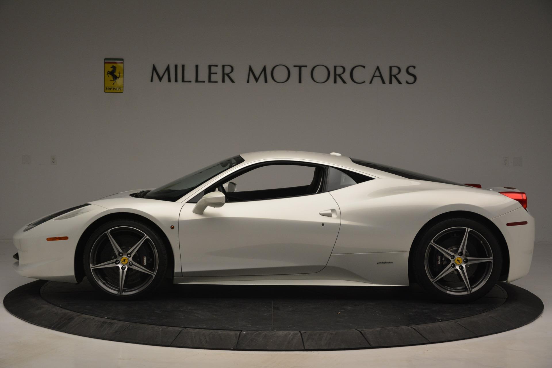 Used 2014 Ferrari 458 Italia  For Sale In Greenwich, CT. Alfa Romeo of Greenwich, 4538 2959_p3