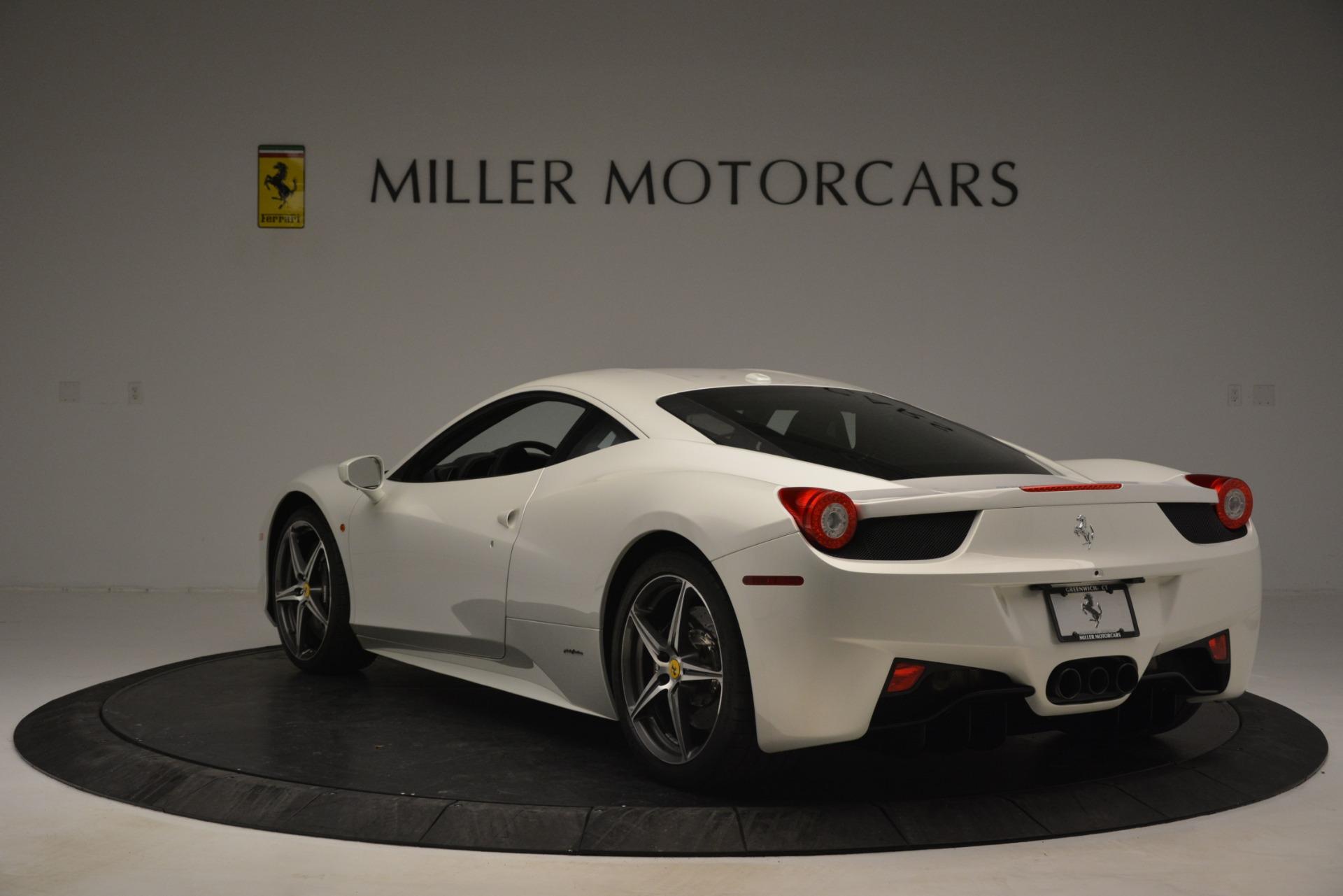 Used 2014 Ferrari 458 Italia  For Sale In Greenwich, CT. Alfa Romeo of Greenwich, 4538 2959_p5
