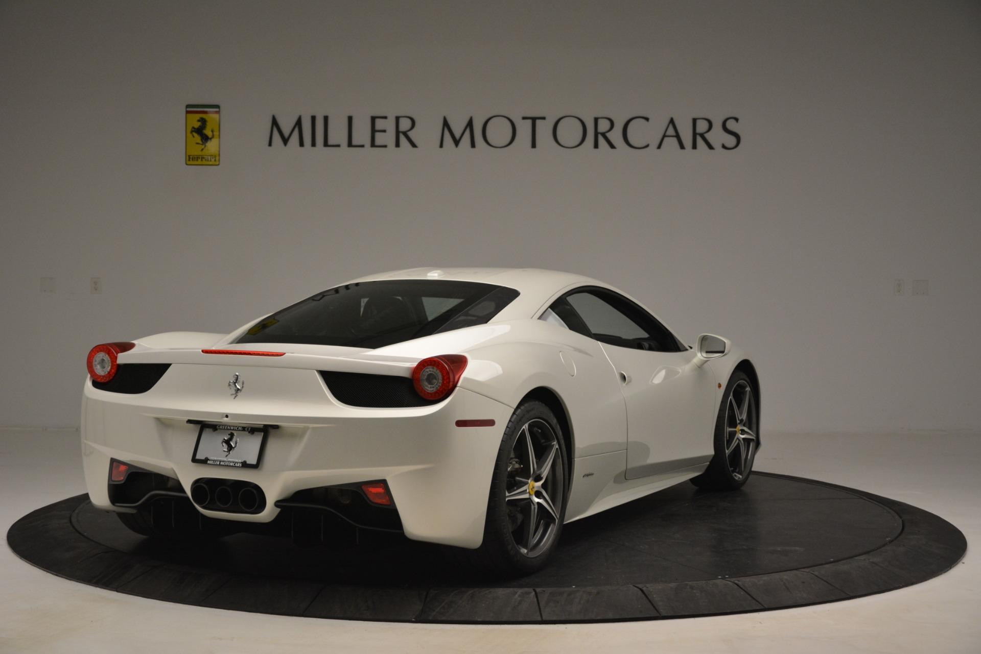 Used 2014 Ferrari 458 Italia  For Sale In Greenwich, CT. Alfa Romeo of Greenwich, 4538 2959_p7