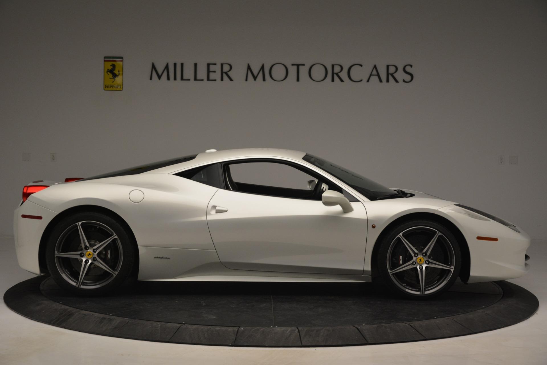 Used 2014 Ferrari 458 Italia  For Sale In Greenwich, CT. Alfa Romeo of Greenwich, 4538 2959_p9