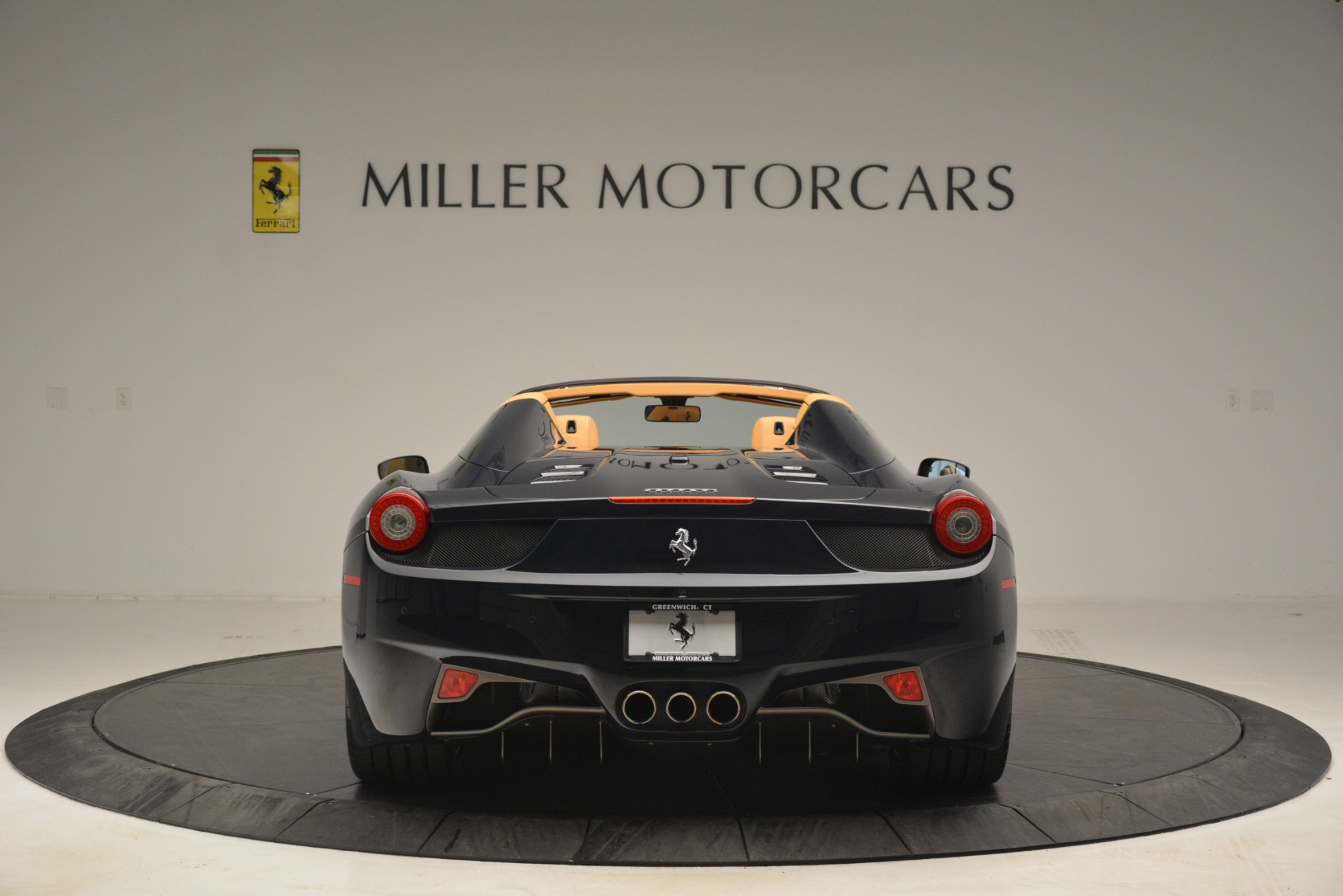 Used 2014 Ferrari 458 Spider  For Sale In Greenwich, CT. Alfa Romeo of Greenwich, 4513 2964_p6