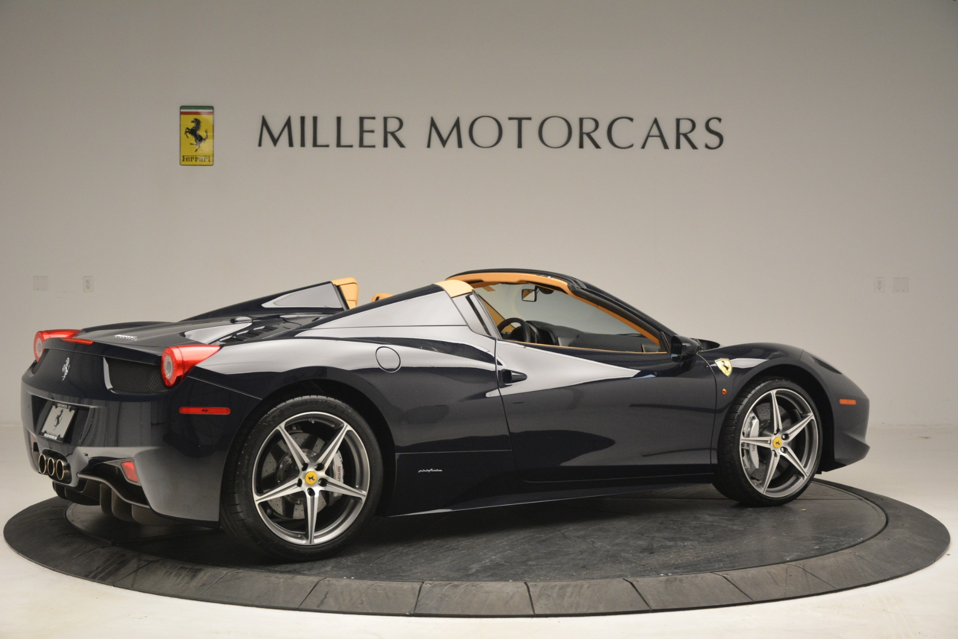 Used 2014 Ferrari 458 Spider  For Sale In Greenwich, CT. Alfa Romeo of Greenwich, 4513 2964_p8