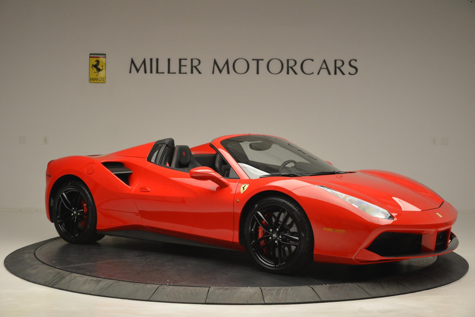 Used 2017 Ferrari 488 Spider  For Sale In Greenwich, CT. Alfa Romeo of Greenwich, 4539 2965_p10