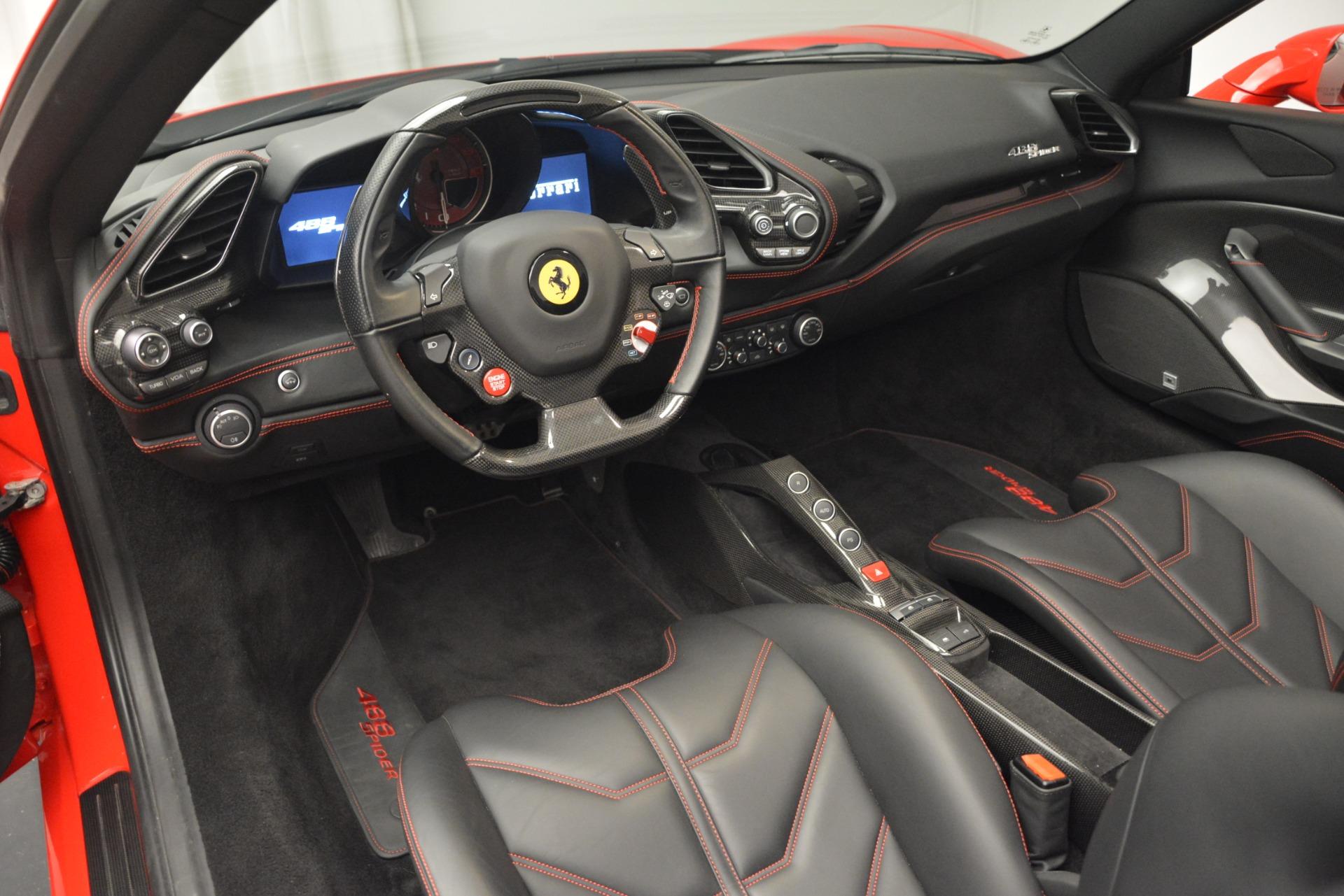 Used 2017 Ferrari 488 Spider  For Sale In Greenwich, CT. Alfa Romeo of Greenwich, 4539 2965_p25