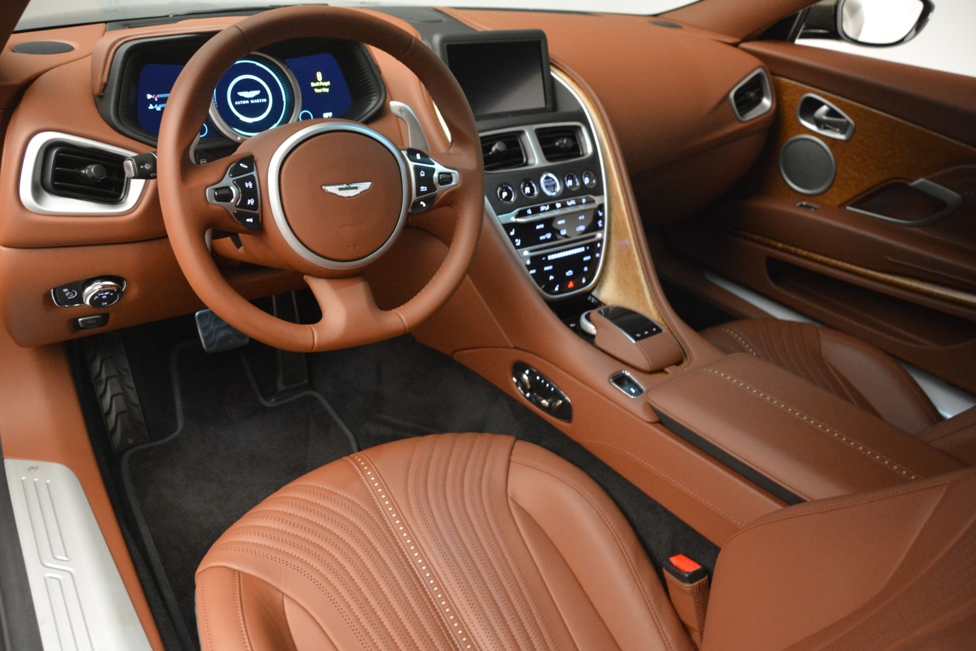 Used 2018 Aston Martin DB11 V12 Coupe For Sale In Greenwich, CT. Alfa Romeo of Greenwich, 7497 2970_p14
