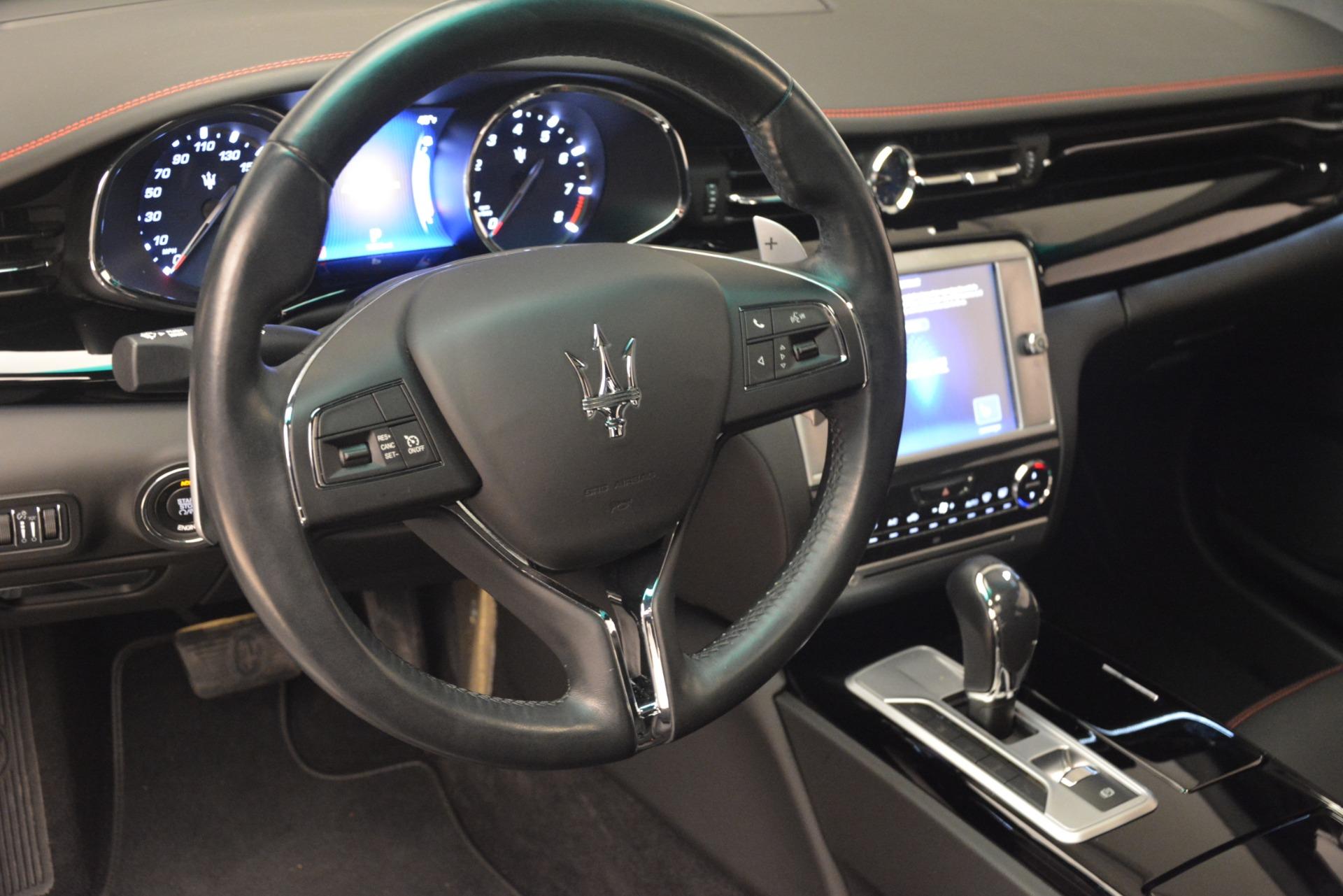 Used 2015 Maserati Quattroporte GTS For Sale In Greenwich, CT. Alfa Romeo of Greenwich, R482A 2993_p15