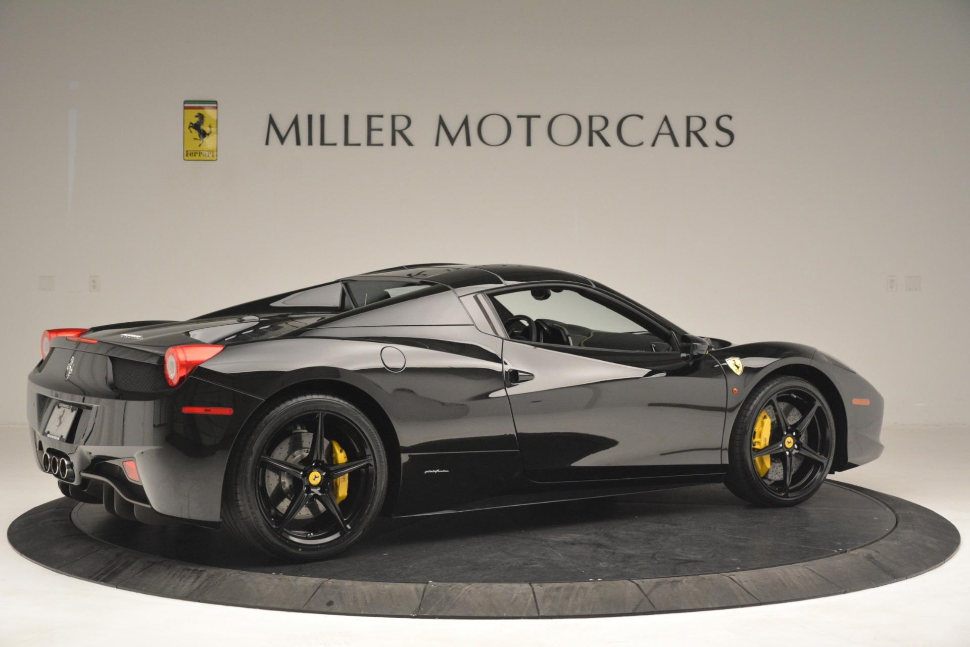 Used 2013 Ferrari 458 Spider  For Sale In Greenwich, CT. Alfa Romeo of Greenwich, 4544 3024_p20