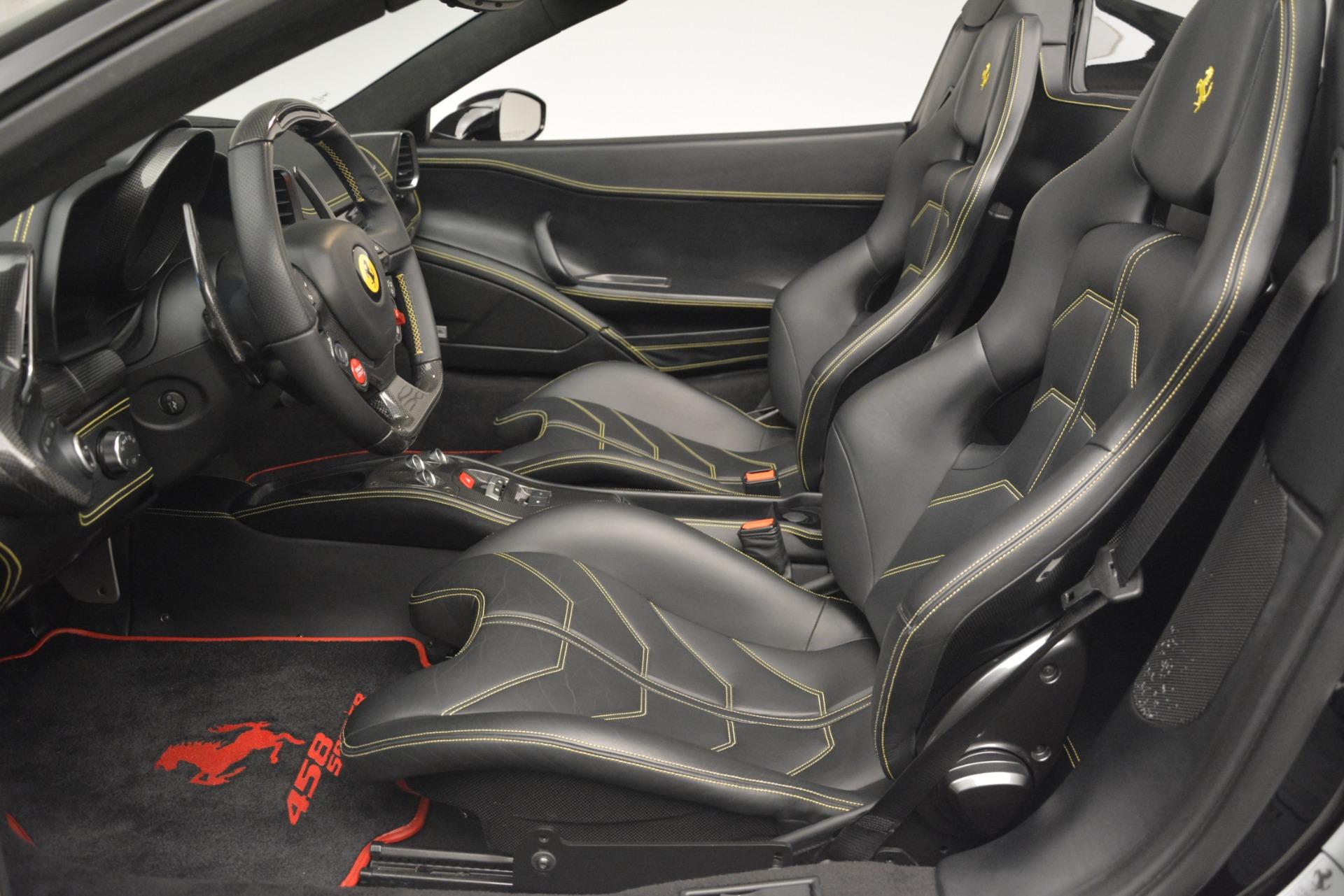 Used 2013 Ferrari 458 Spider  For Sale In Greenwich, CT. Alfa Romeo of Greenwich, 4544 3024_p26