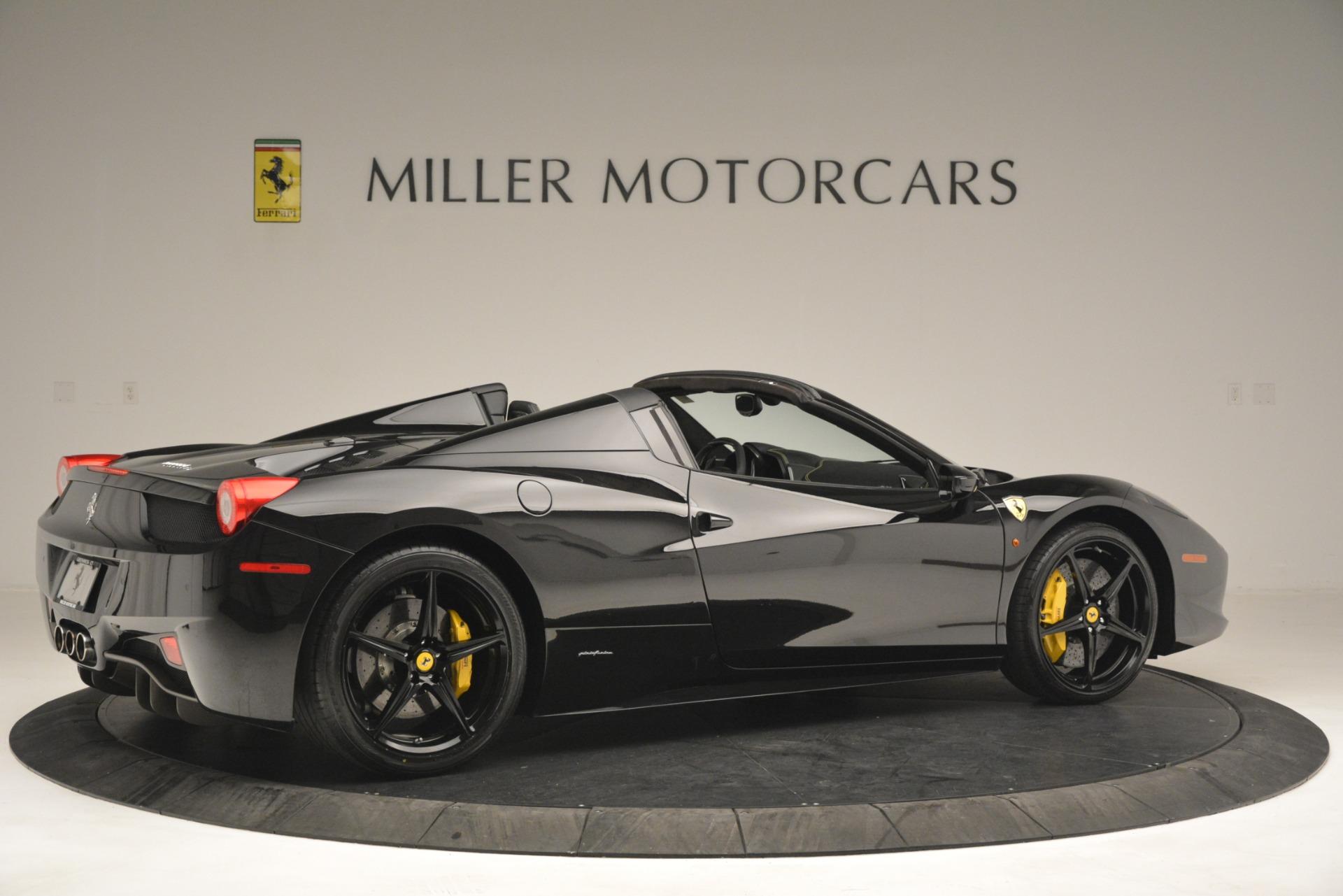 Used 2013 Ferrari 458 Spider  For Sale In Greenwich, CT. Alfa Romeo of Greenwich, 4544 3024_p8