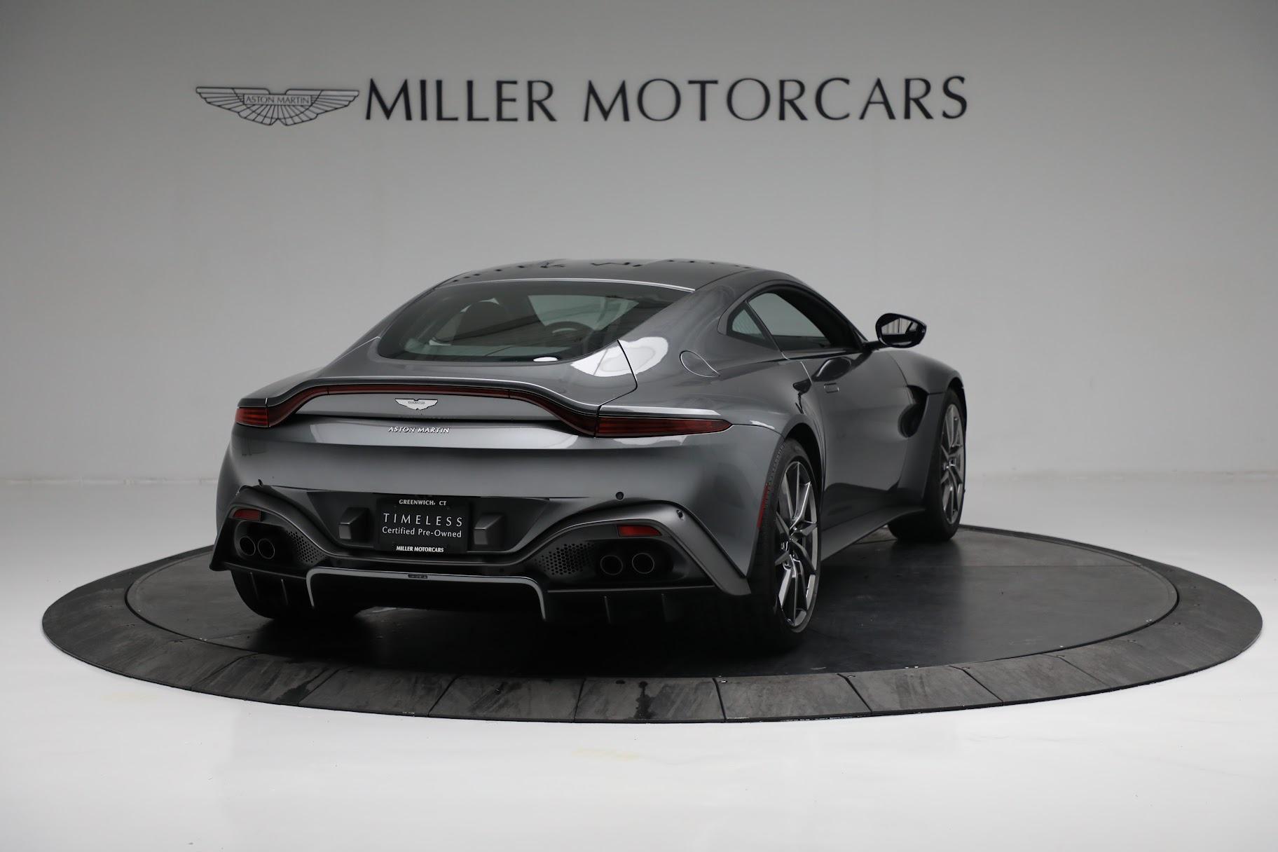 New 2019 Aston Martin Vantage Coupe For Sale In Greenwich, CT. Alfa Romeo of Greenwich, A1356 3032_p6