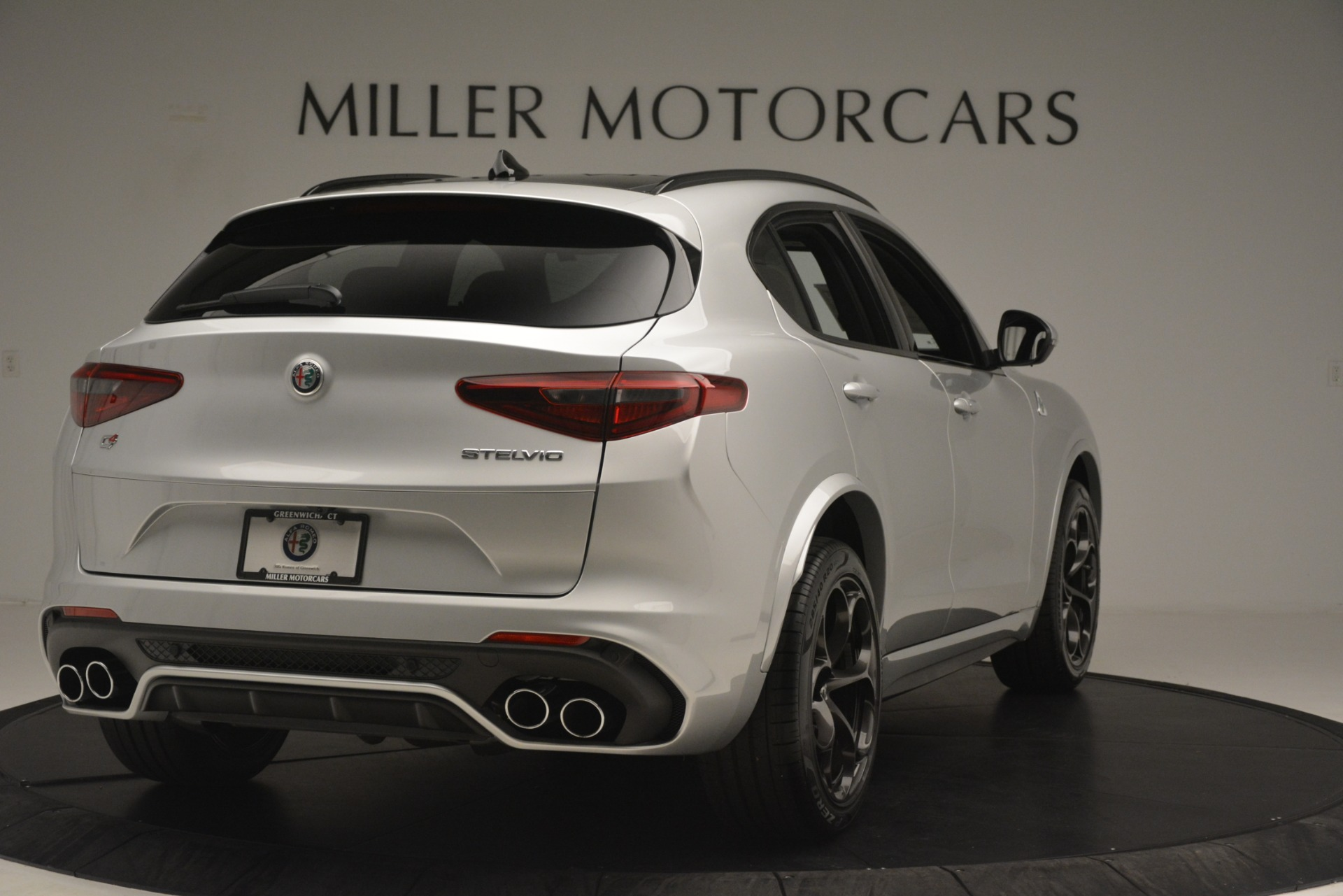 New 2019 Alfa Romeo Stelvio Quadrifoglio For Sale In Greenwich, CT. Alfa Romeo of Greenwich, LW310 3037_p7