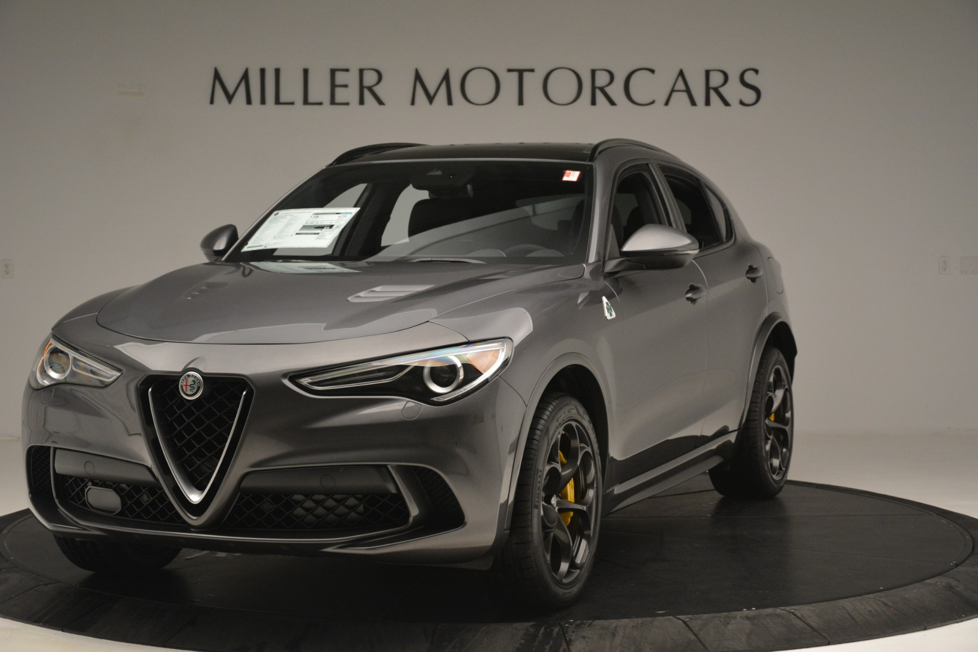New 2019 Alfa Romeo Stelvio Quadrifoglio For Sale In Greenwich, CT. Alfa Romeo of Greenwich, L584 3038_main