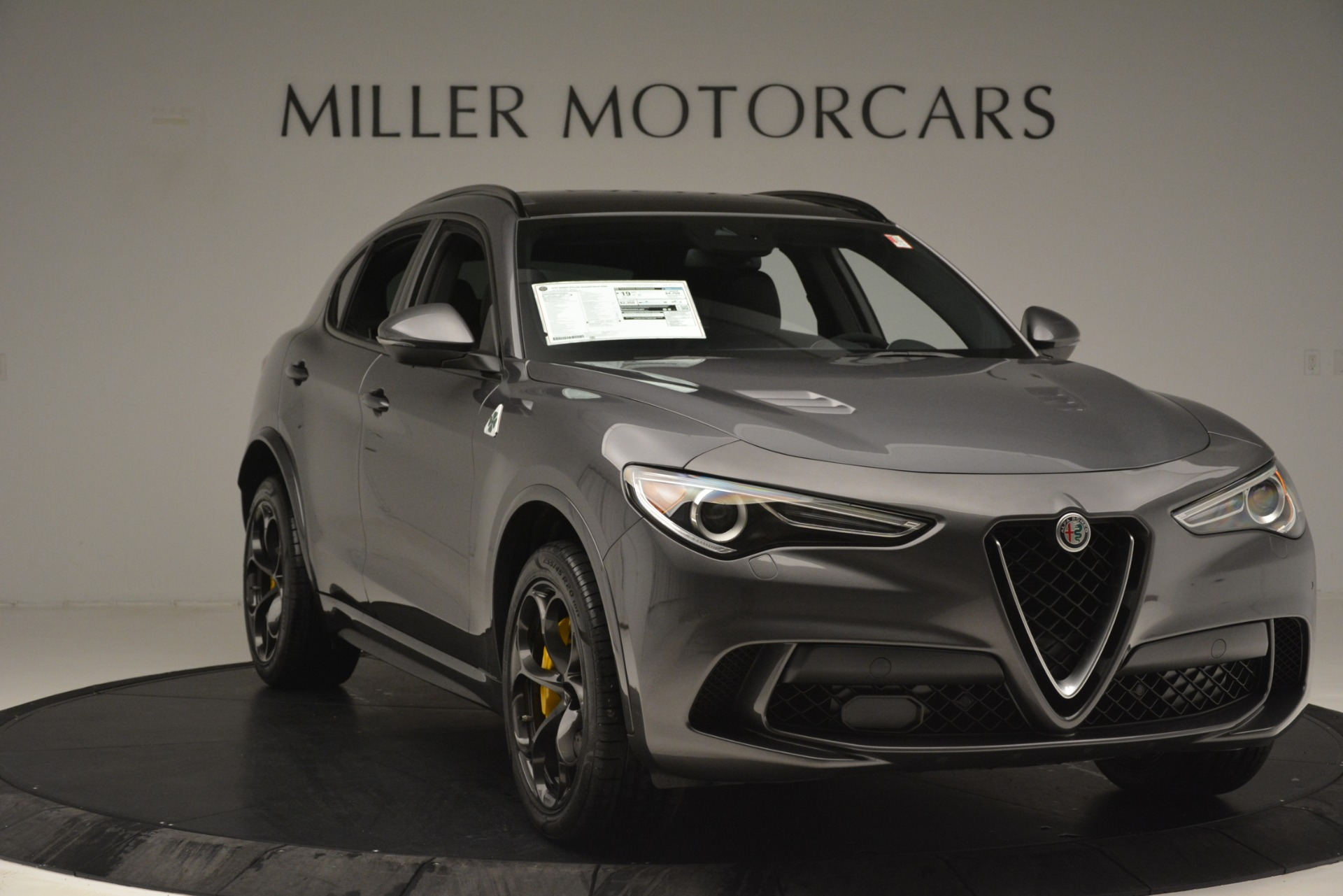 New 2019 Alfa Romeo Stelvio Quadrifoglio For Sale In Greenwich, CT. Alfa Romeo of Greenwich, L584 3038_p11