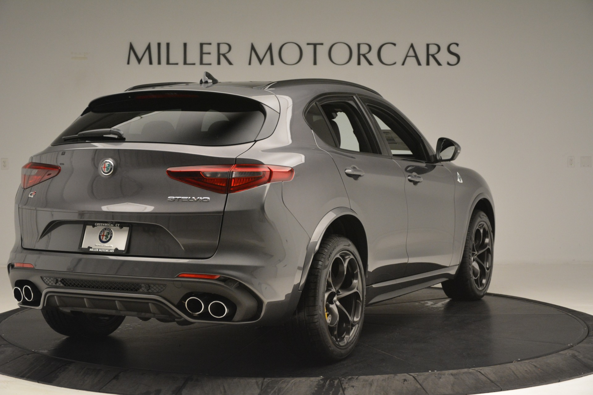 New 2019 Alfa Romeo Stelvio Quadrifoglio For Sale In Greenwich, CT. Alfa Romeo of Greenwich, L584 3038_p7