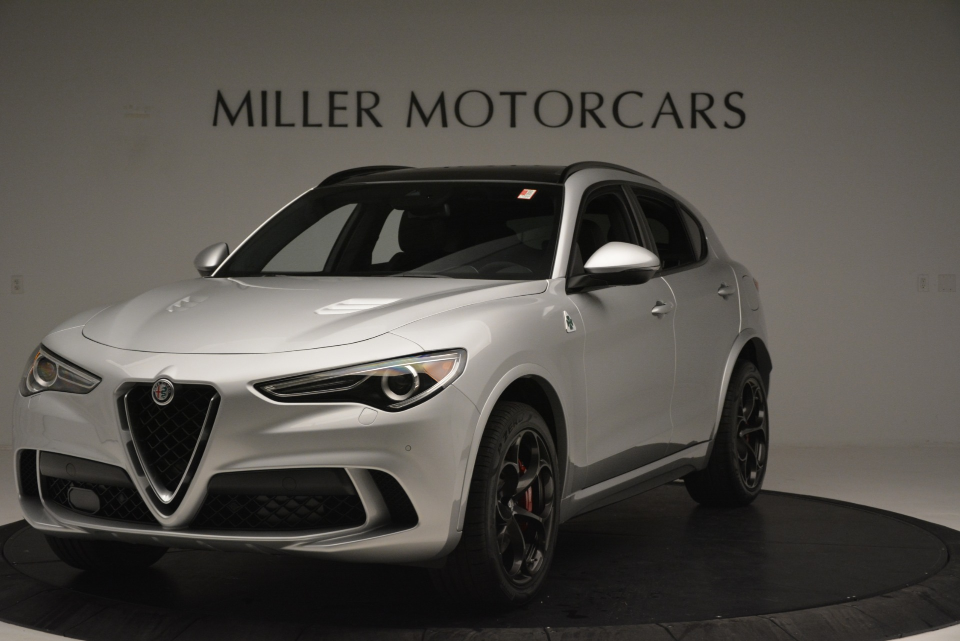 New 2019 Alfa Romeo Stelvio Quadrifoglio For Sale In Greenwich, CT. Alfa Romeo of Greenwich, L585 3039_main