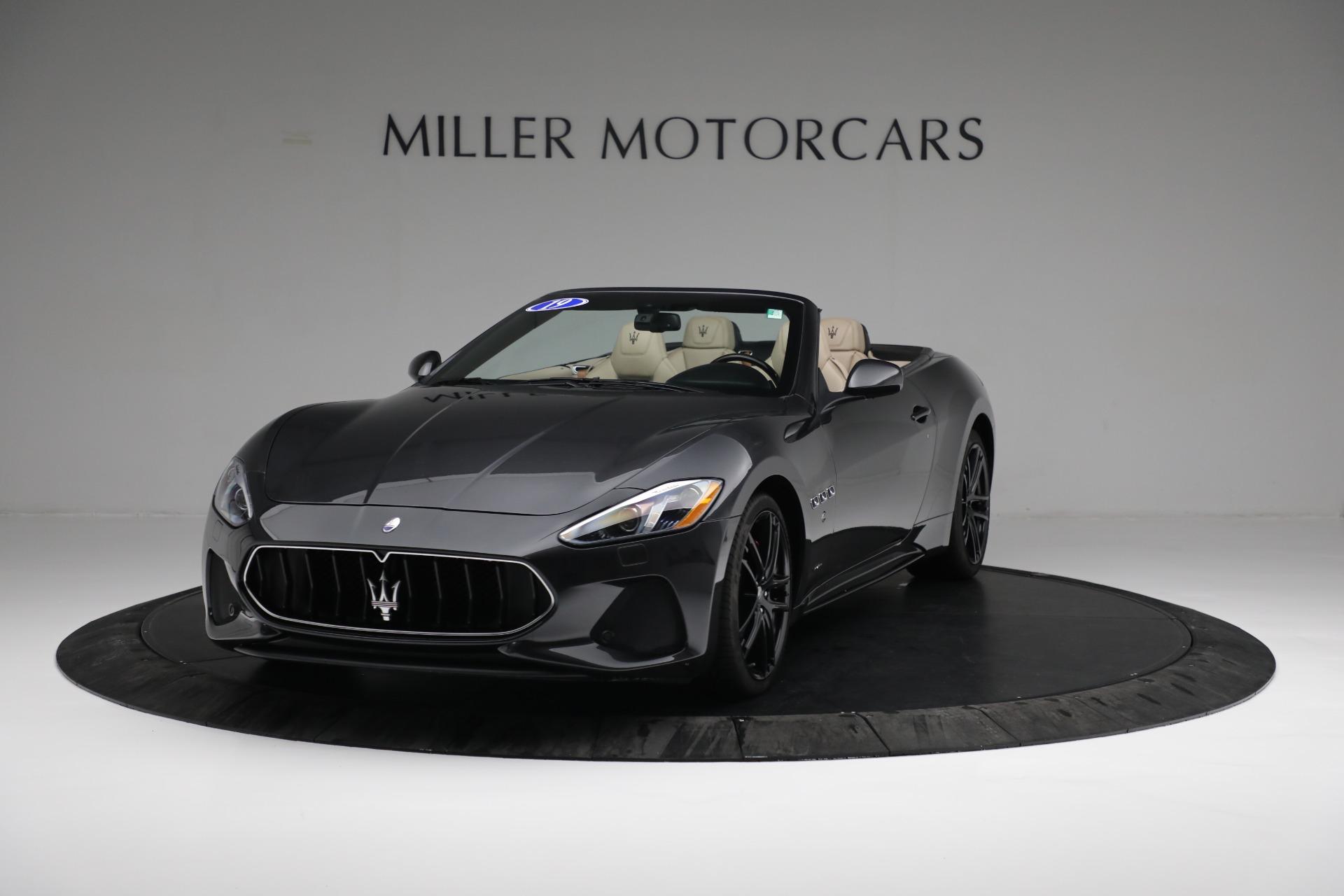 New 2019 Maserati GranTurismo Sport Convertible For Sale In Greenwich, CT. Alfa Romeo of Greenwich, M2280 3040_main
