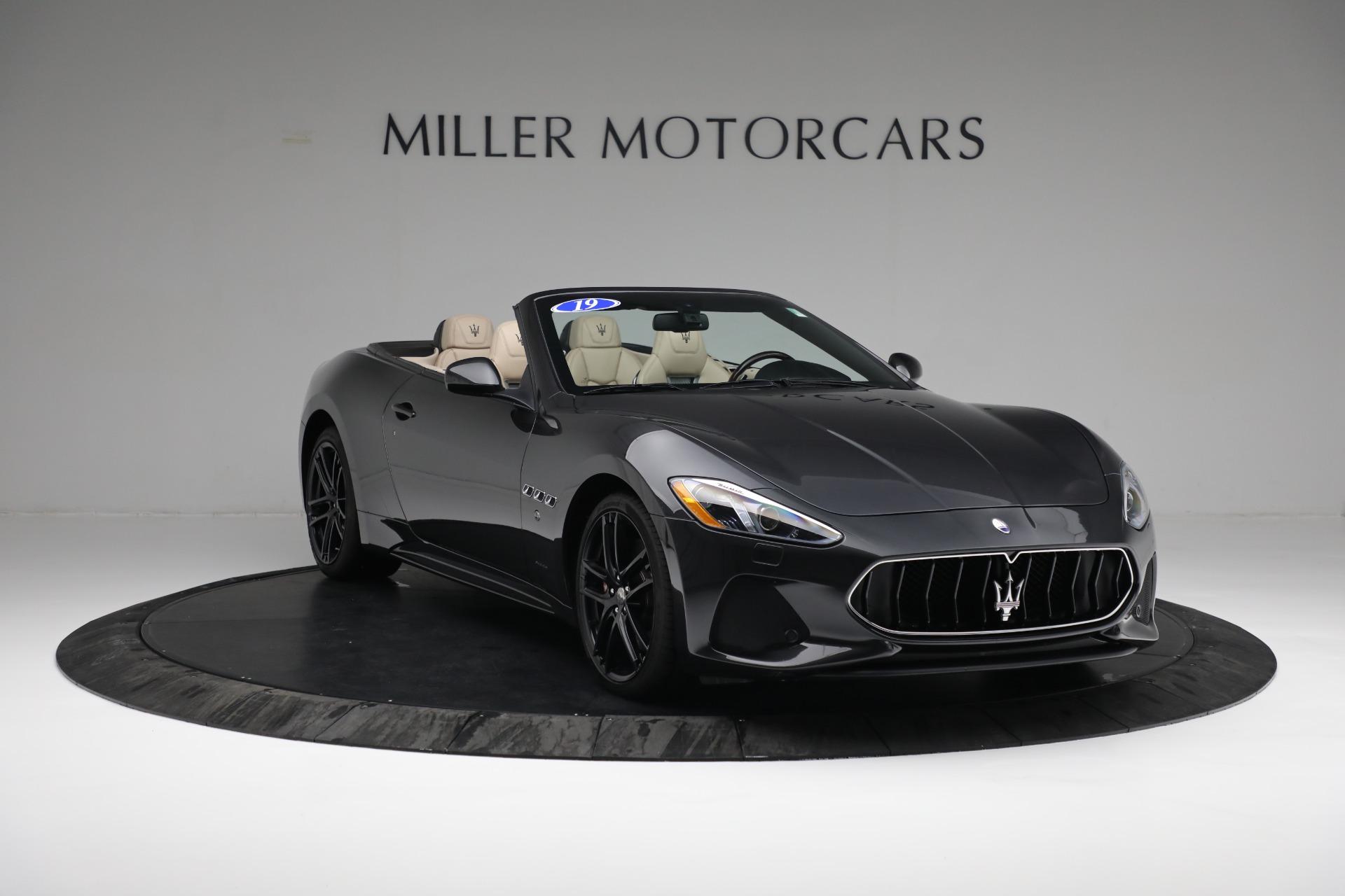New 2019 Maserati GranTurismo Sport Convertible For Sale In Greenwich, CT. Alfa Romeo of Greenwich, M2280 3040_p11