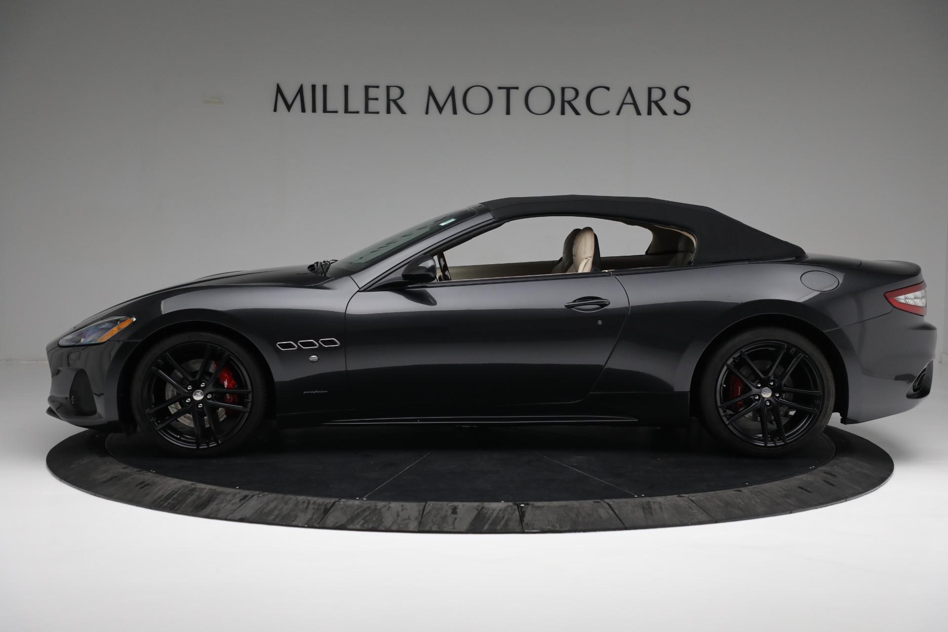 New 2019 Maserati GranTurismo Sport Convertible For Sale In Greenwich, CT. Alfa Romeo of Greenwich, M2280 3040_p14