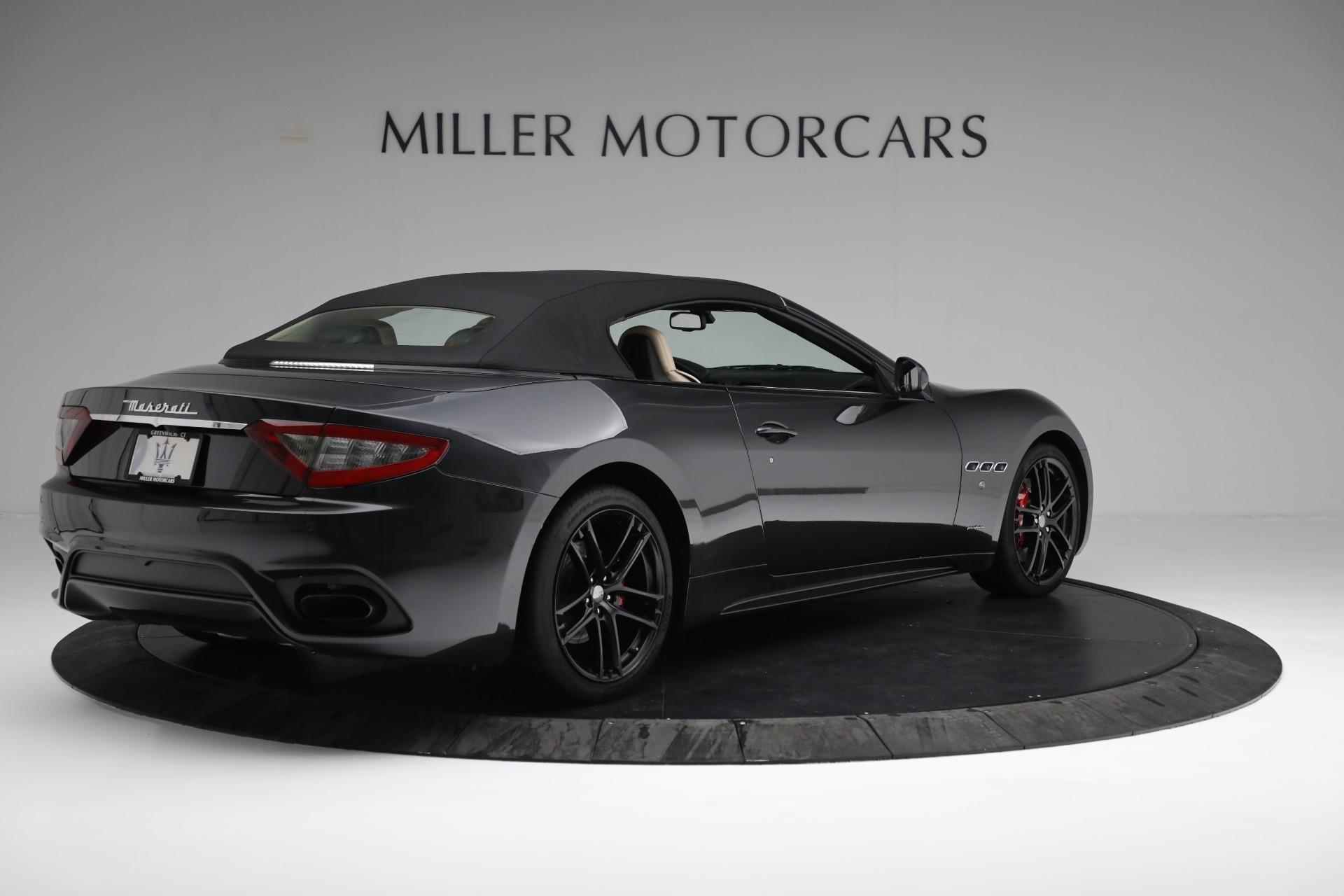 New 2019 Maserati GranTurismo Sport Convertible For Sale In Greenwich, CT. Alfa Romeo of Greenwich, M2280 3040_p16
