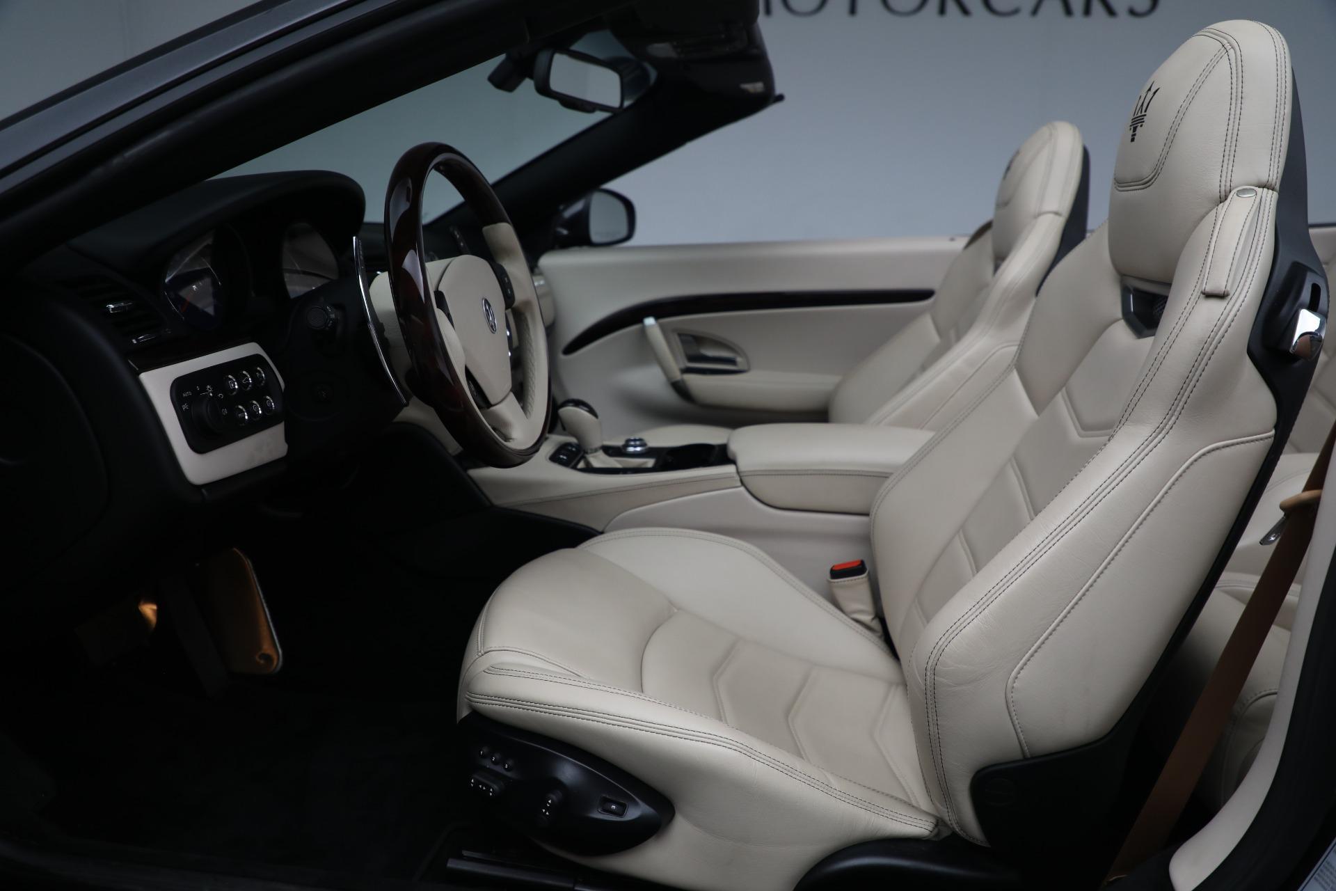New 2019 Maserati GranTurismo Sport Convertible For Sale In Greenwich, CT. Alfa Romeo of Greenwich, M2280 3040_p20