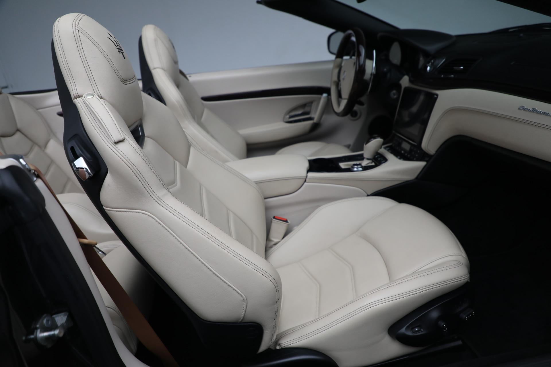 New 2019 Maserati GranTurismo Sport Convertible For Sale In Greenwich, CT. Alfa Romeo of Greenwich, M2280 3040_p24