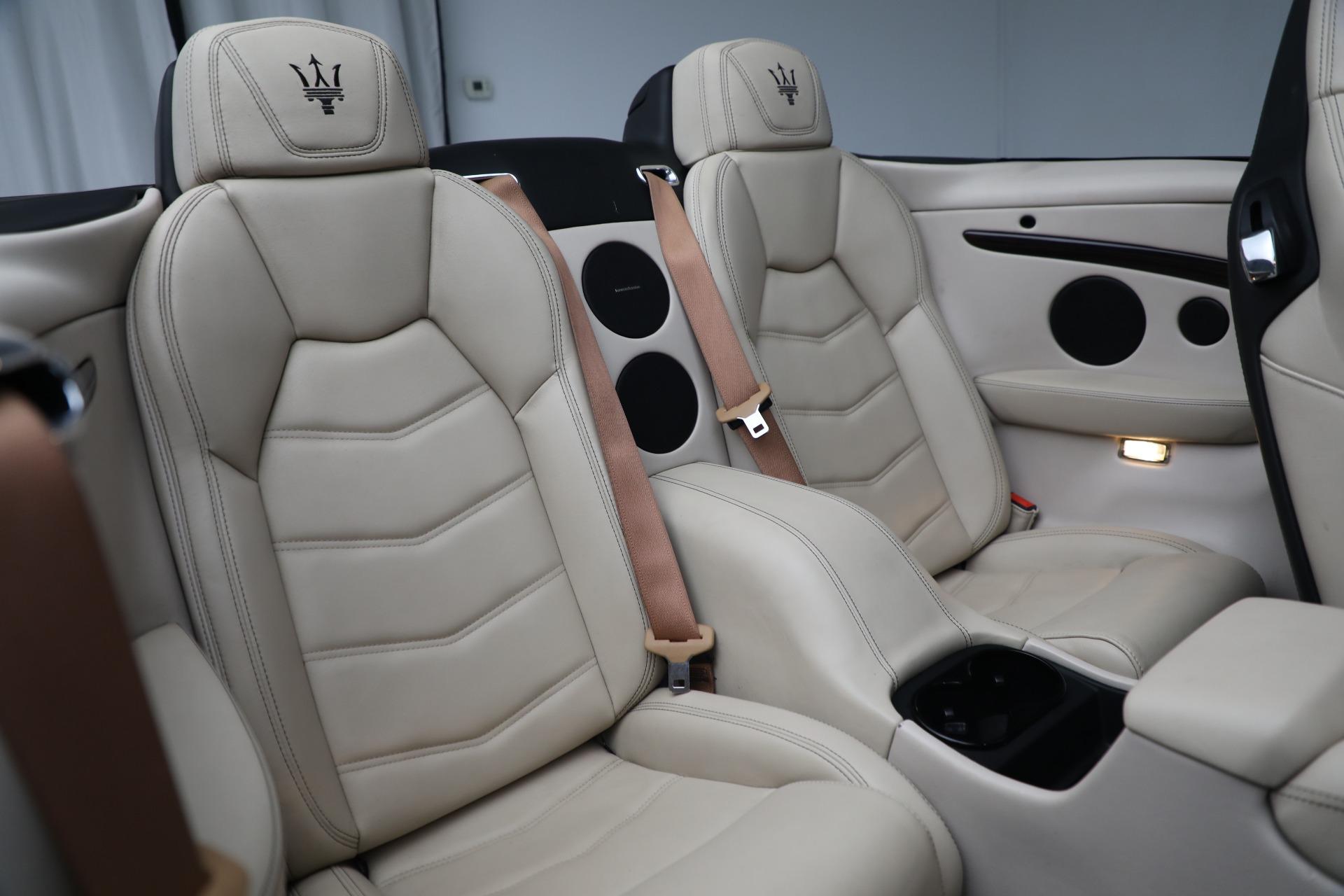 New 2019 Maserati GranTurismo Sport Convertible For Sale In Greenwich, CT. Alfa Romeo of Greenwich, M2280 3040_p26