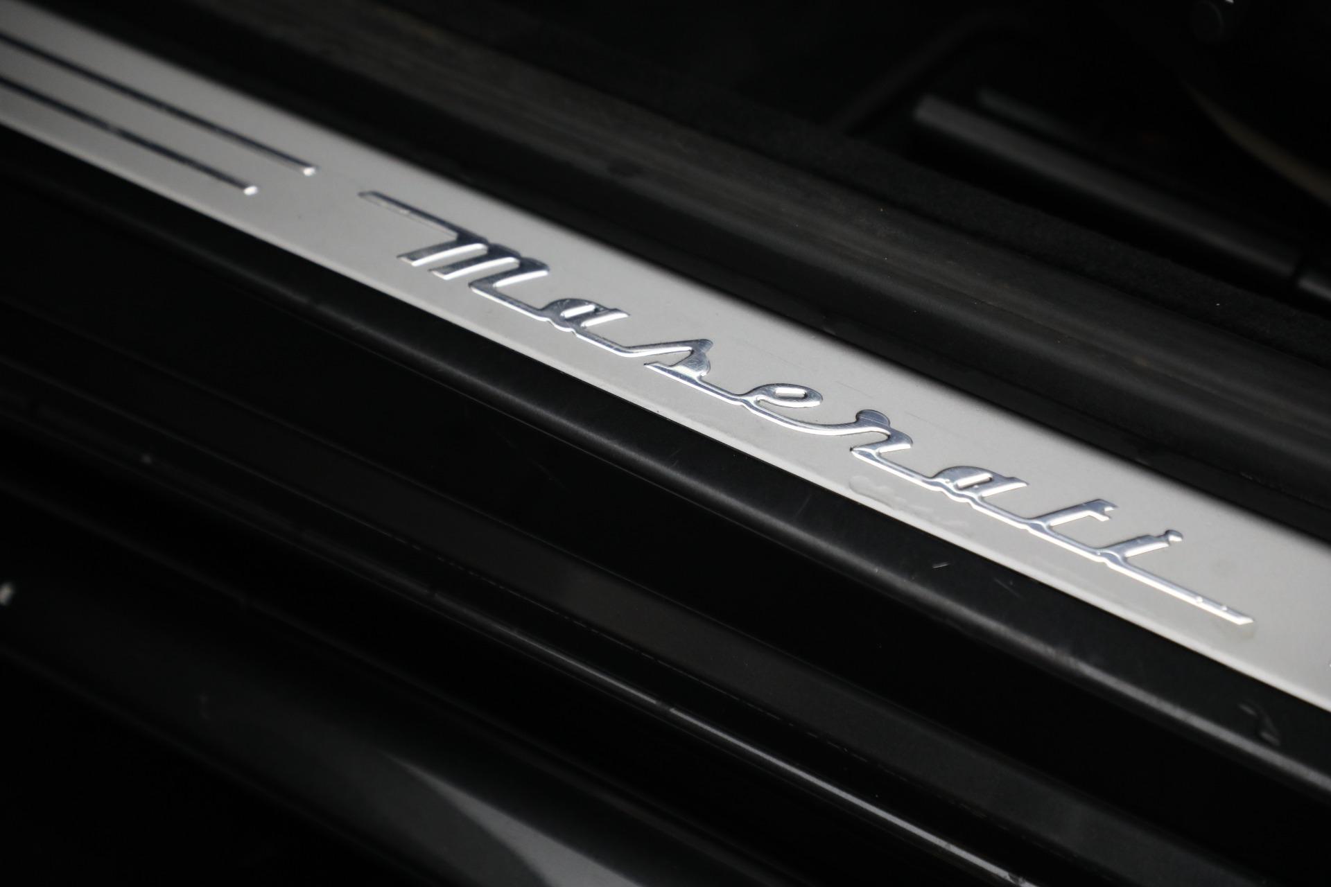 New 2019 Maserati GranTurismo Sport Convertible For Sale In Greenwich, CT. Alfa Romeo of Greenwich, M2280 3040_p30