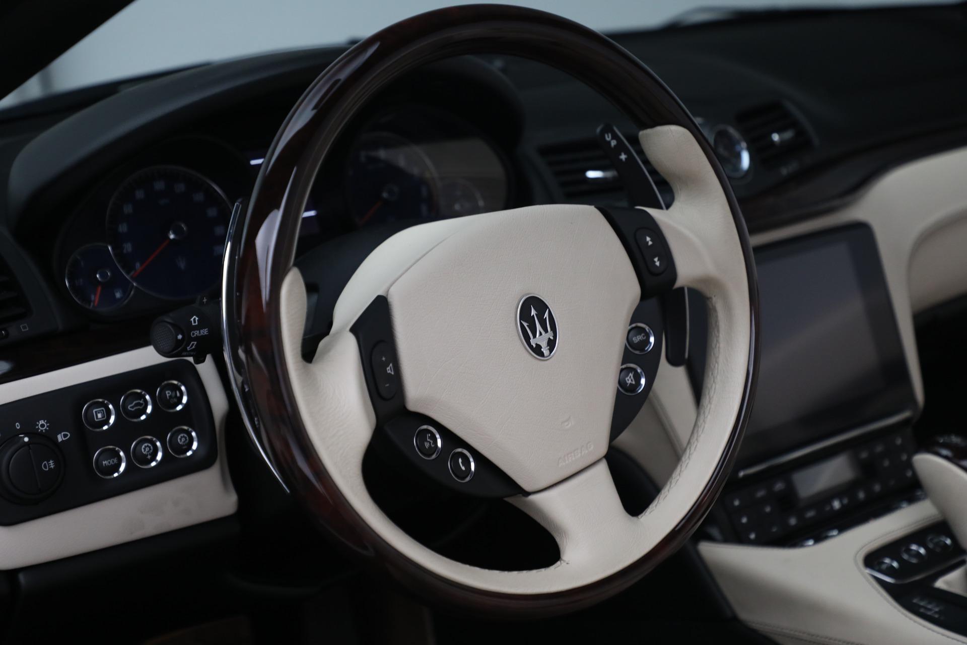 New 2019 Maserati GranTurismo Sport Convertible For Sale In Greenwich, CT. Alfa Romeo of Greenwich, M2280 3040_p31
