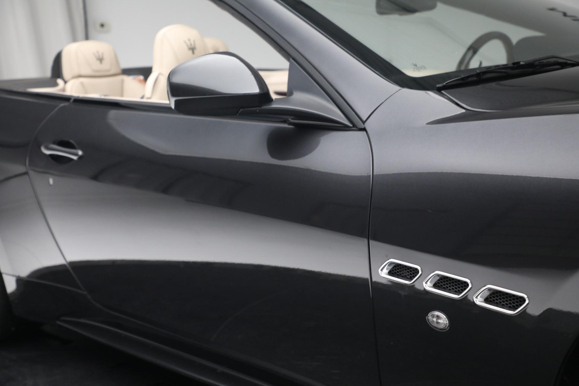 New 2019 Maserati GranTurismo Sport Convertible For Sale In Greenwich, CT. Alfa Romeo of Greenwich, M2280 3040_p35