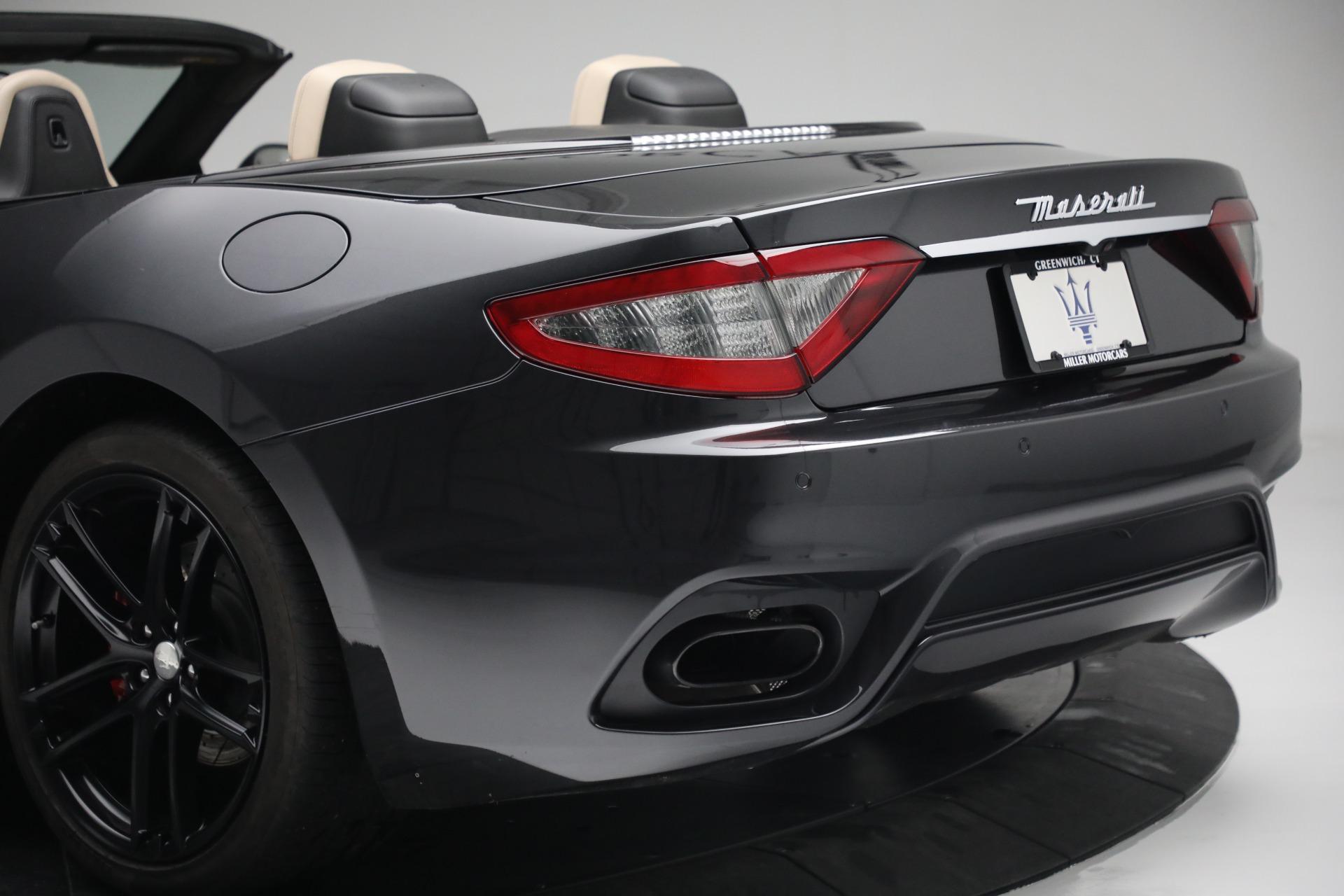 New 2019 Maserati GranTurismo Sport Convertible For Sale In Greenwich, CT. Alfa Romeo of Greenwich, M2280 3040_p38