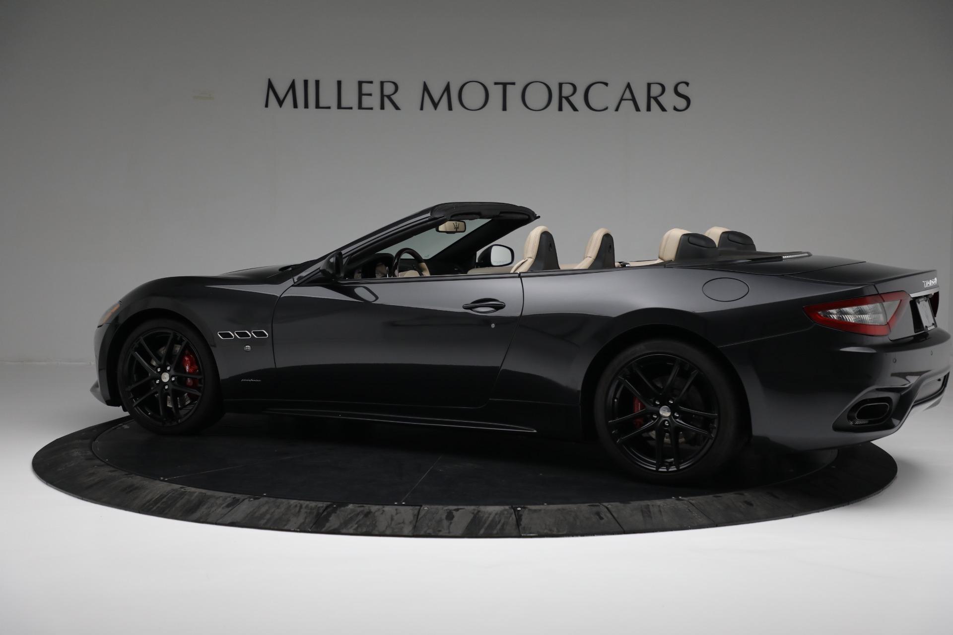 New 2019 Maserati GranTurismo Sport Convertible For Sale In Greenwich, CT. Alfa Romeo of Greenwich, M2280 3040_p4