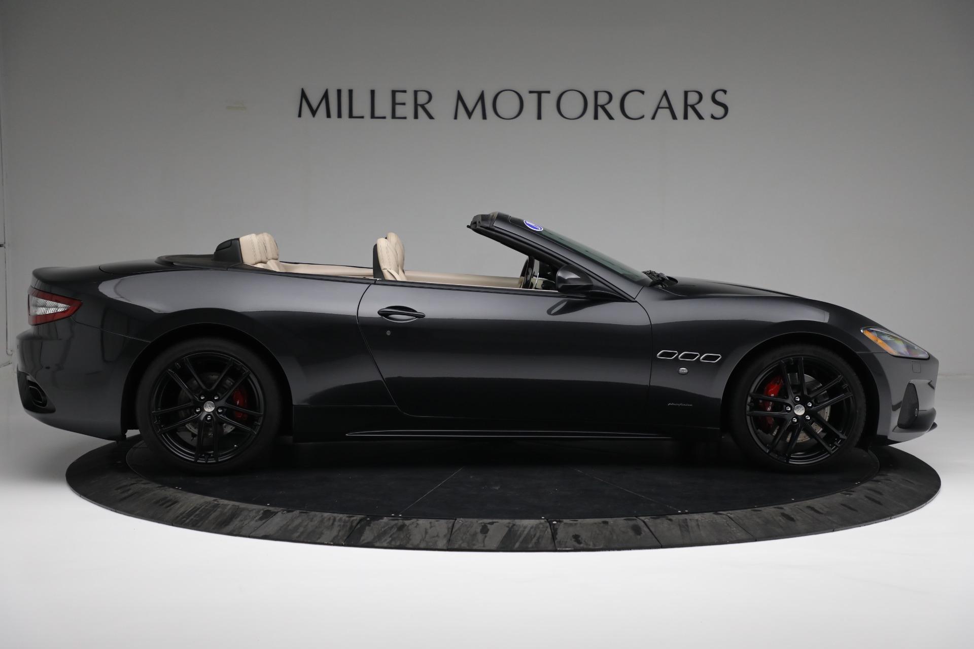 New 2019 Maserati GranTurismo Sport Convertible For Sale In Greenwich, CT. Alfa Romeo of Greenwich, M2280 3040_p9
