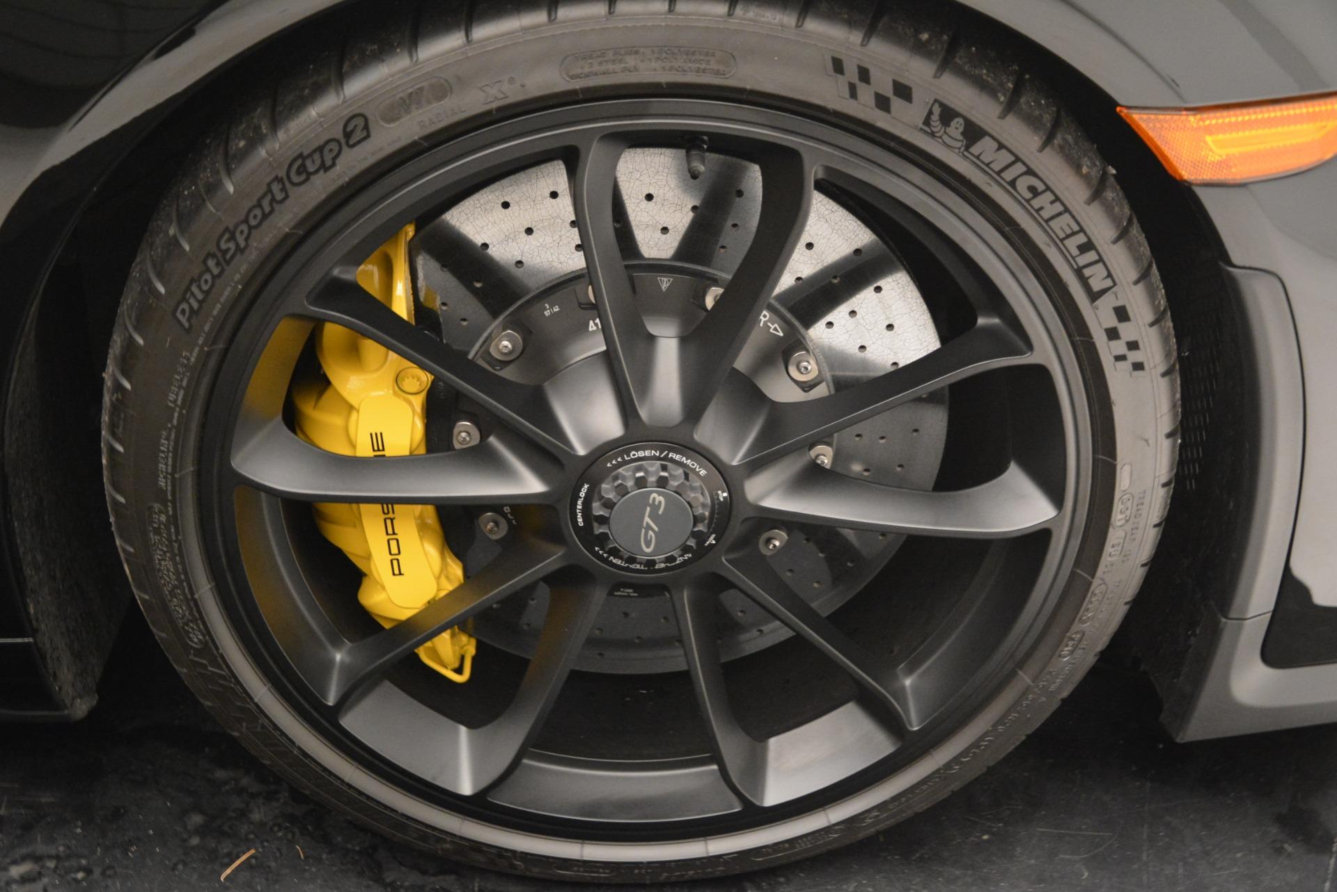 Used 2018 Porsche 911 GT3 For Sale In Greenwich, CT. Alfa Romeo of Greenwich, 7530 3056_p31