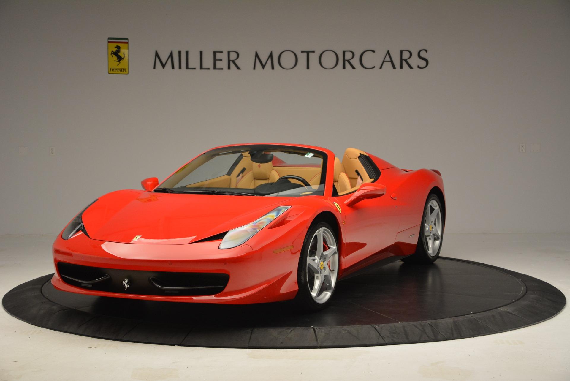 Used 2013 Ferrari 458 Spider  For Sale In Greenwich, CT. Alfa Romeo of Greenwich, F1891A 3057_main