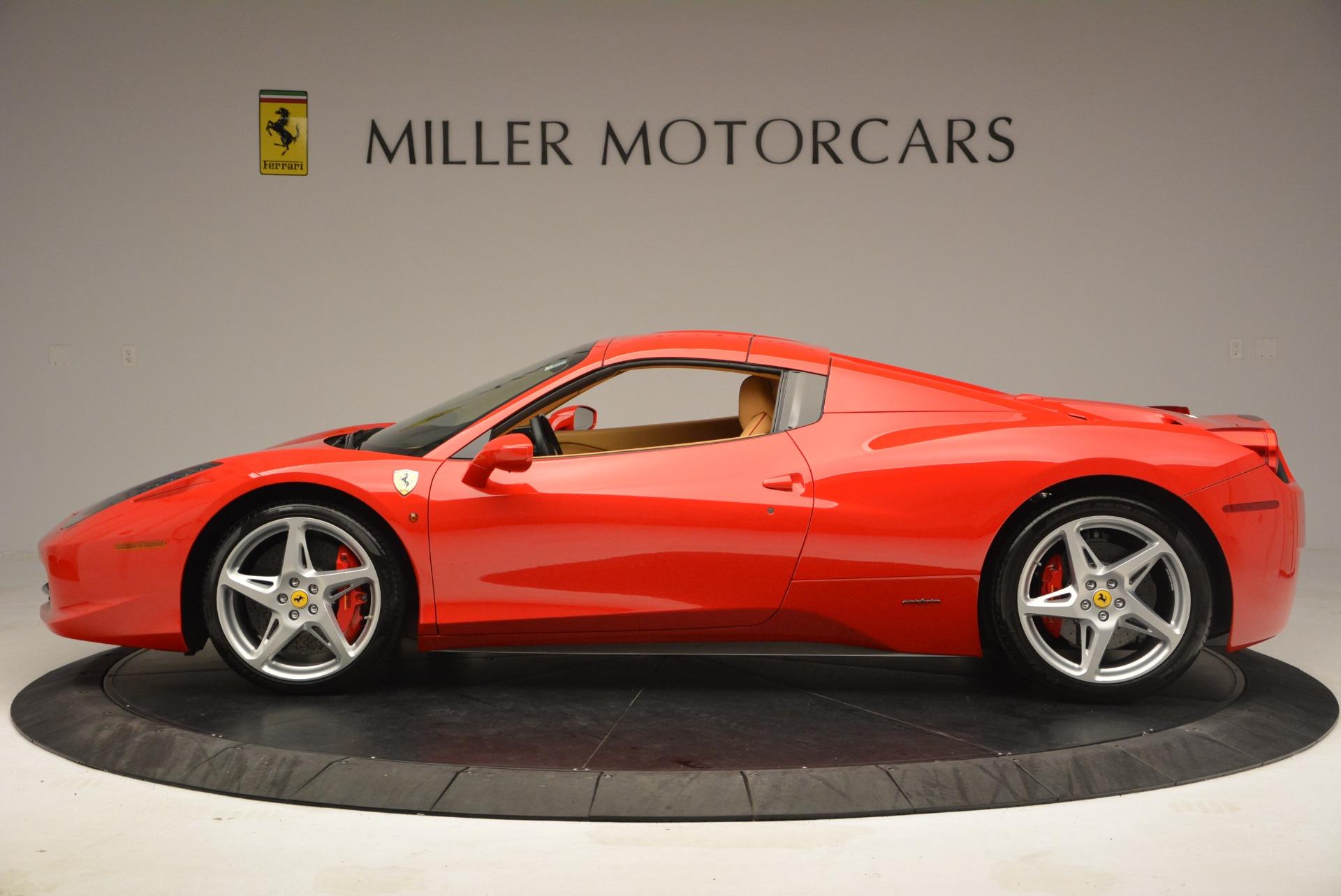 Used 2013 Ferrari 458 Spider  For Sale In Greenwich, CT. Alfa Romeo of Greenwich, F1891A 3057_p15