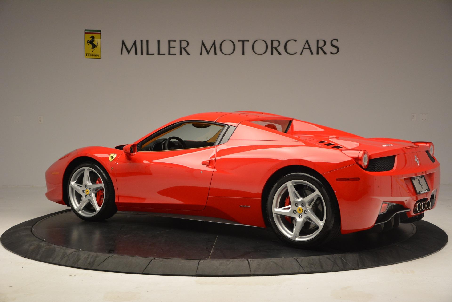 Used 2013 Ferrari 458 Spider  For Sale In Greenwich, CT. Alfa Romeo of Greenwich, F1891A 3057_p16