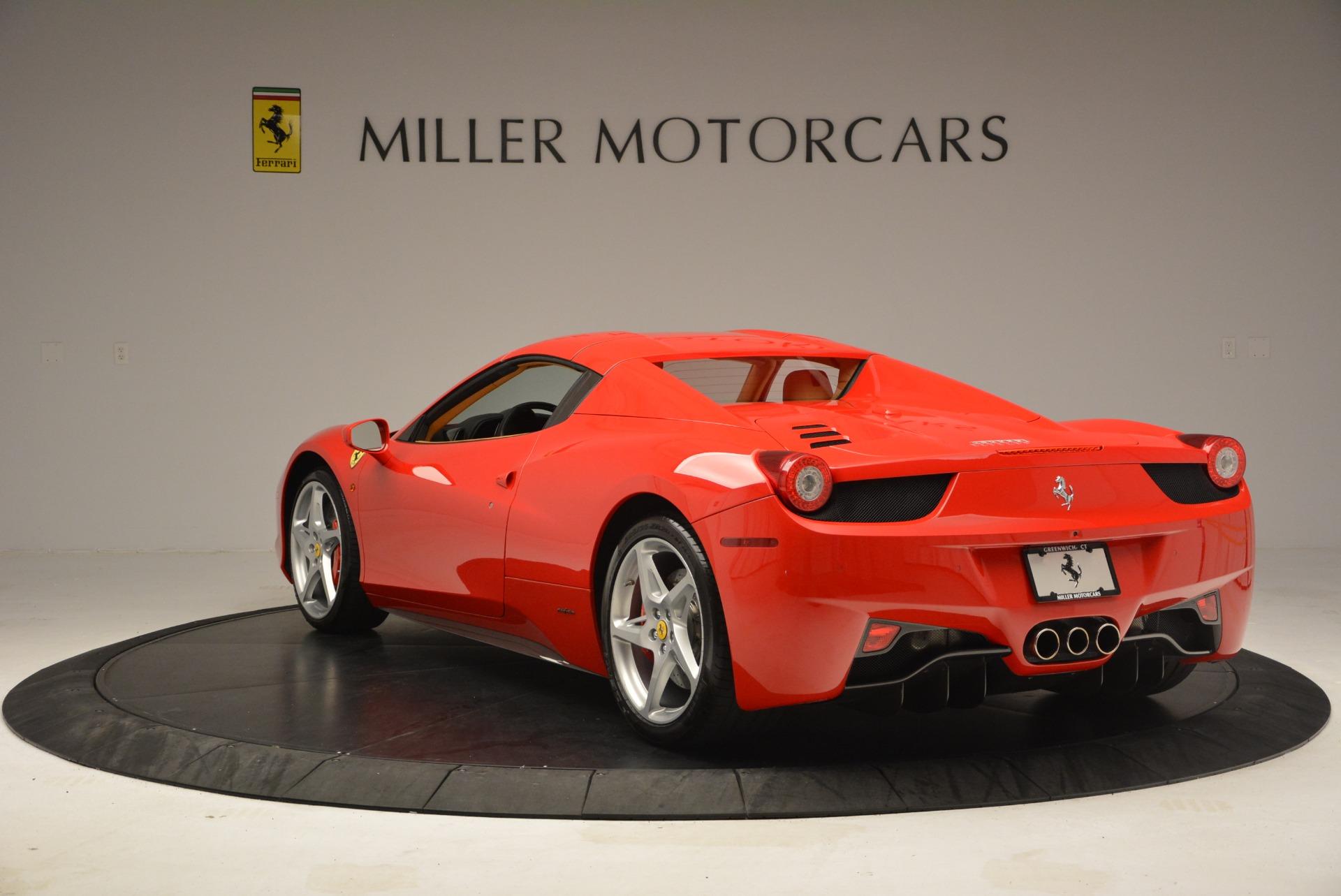 Used 2013 Ferrari 458 Spider  For Sale In Greenwich, CT. Alfa Romeo of Greenwich, F1891A 3057_p17