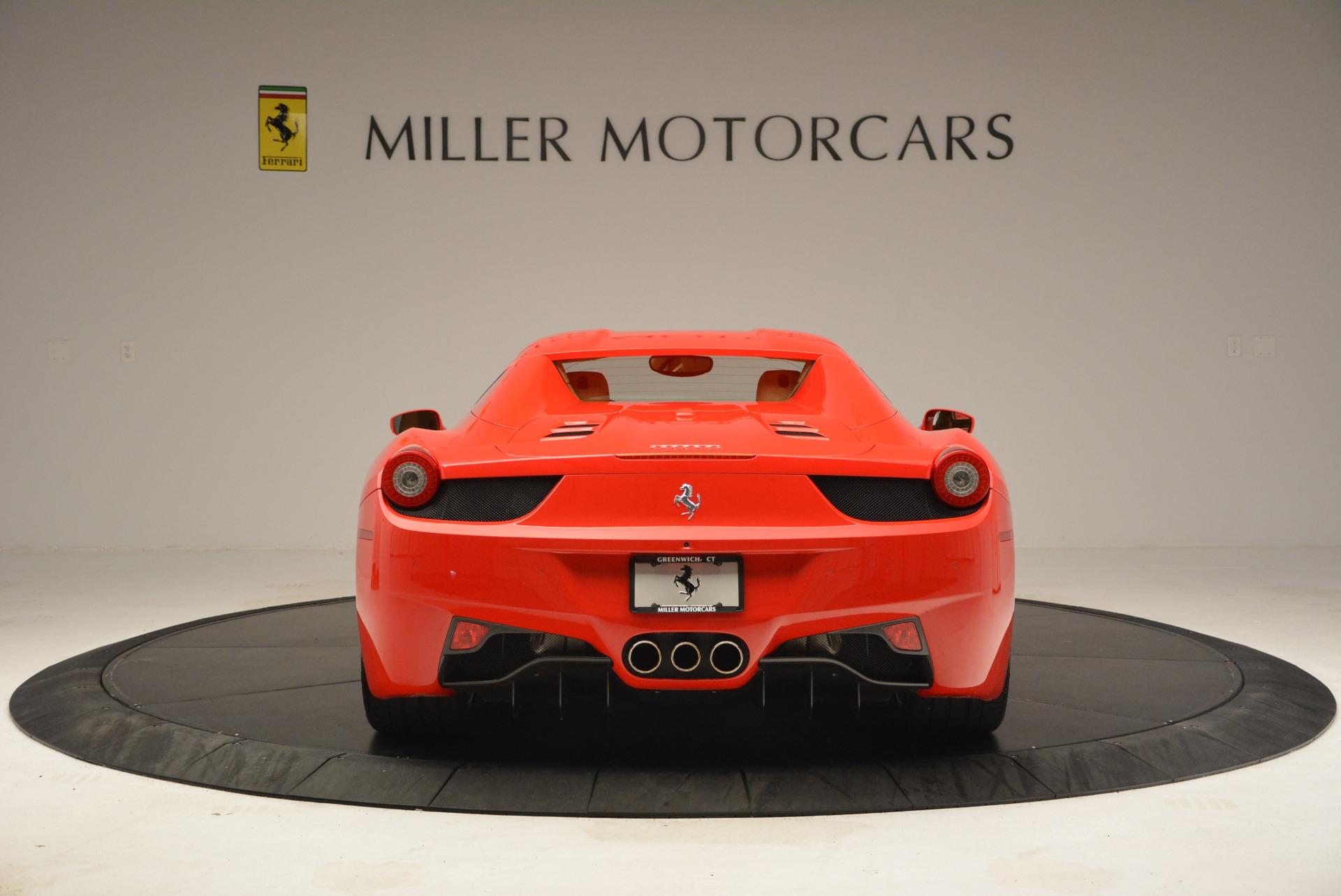 Used 2013 Ferrari 458 Spider  For Sale In Greenwich, CT. Alfa Romeo of Greenwich, F1891A 3057_p18
