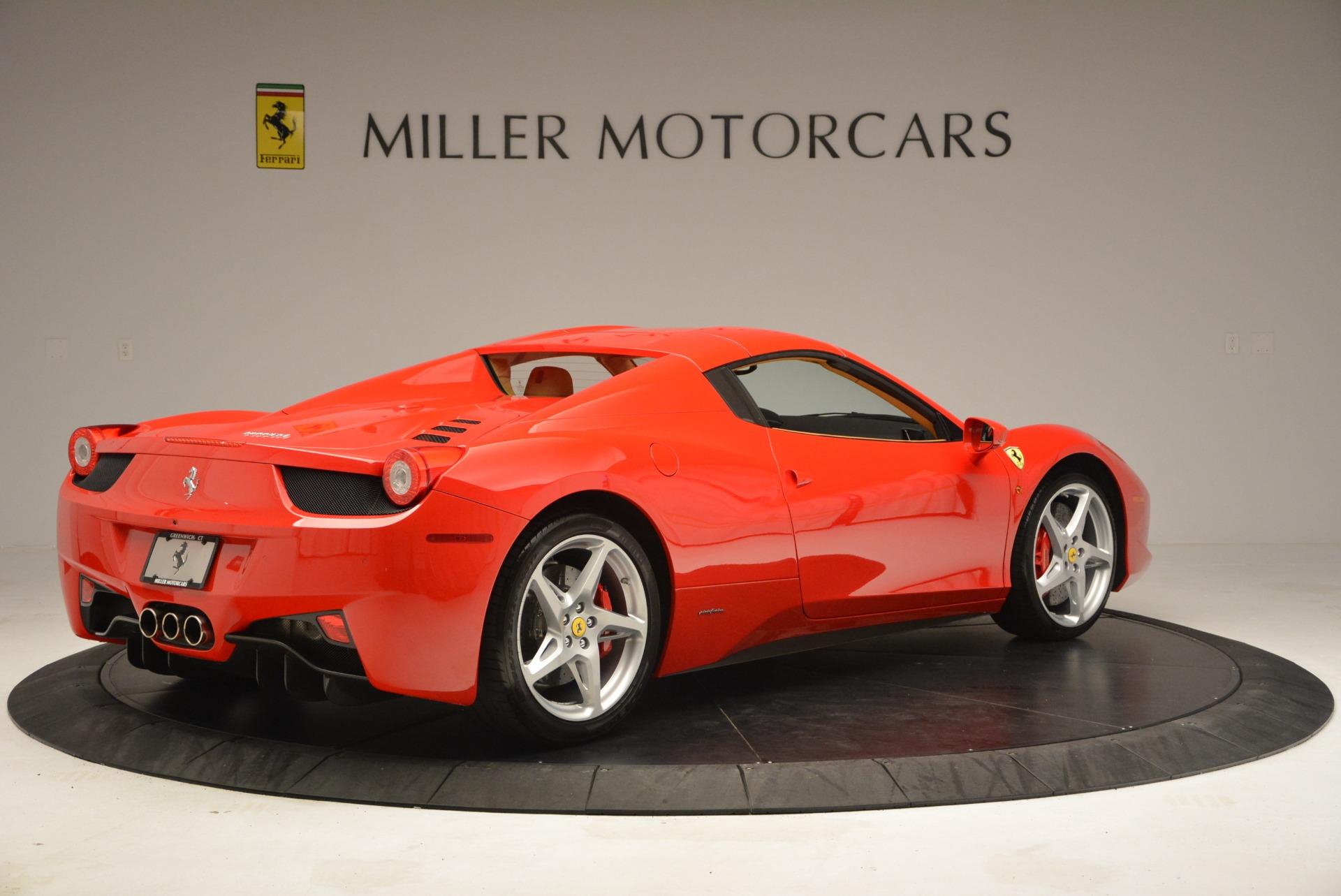Used 2013 Ferrari 458 Spider  For Sale In Greenwich, CT. Alfa Romeo of Greenwich, F1891A 3057_p20
