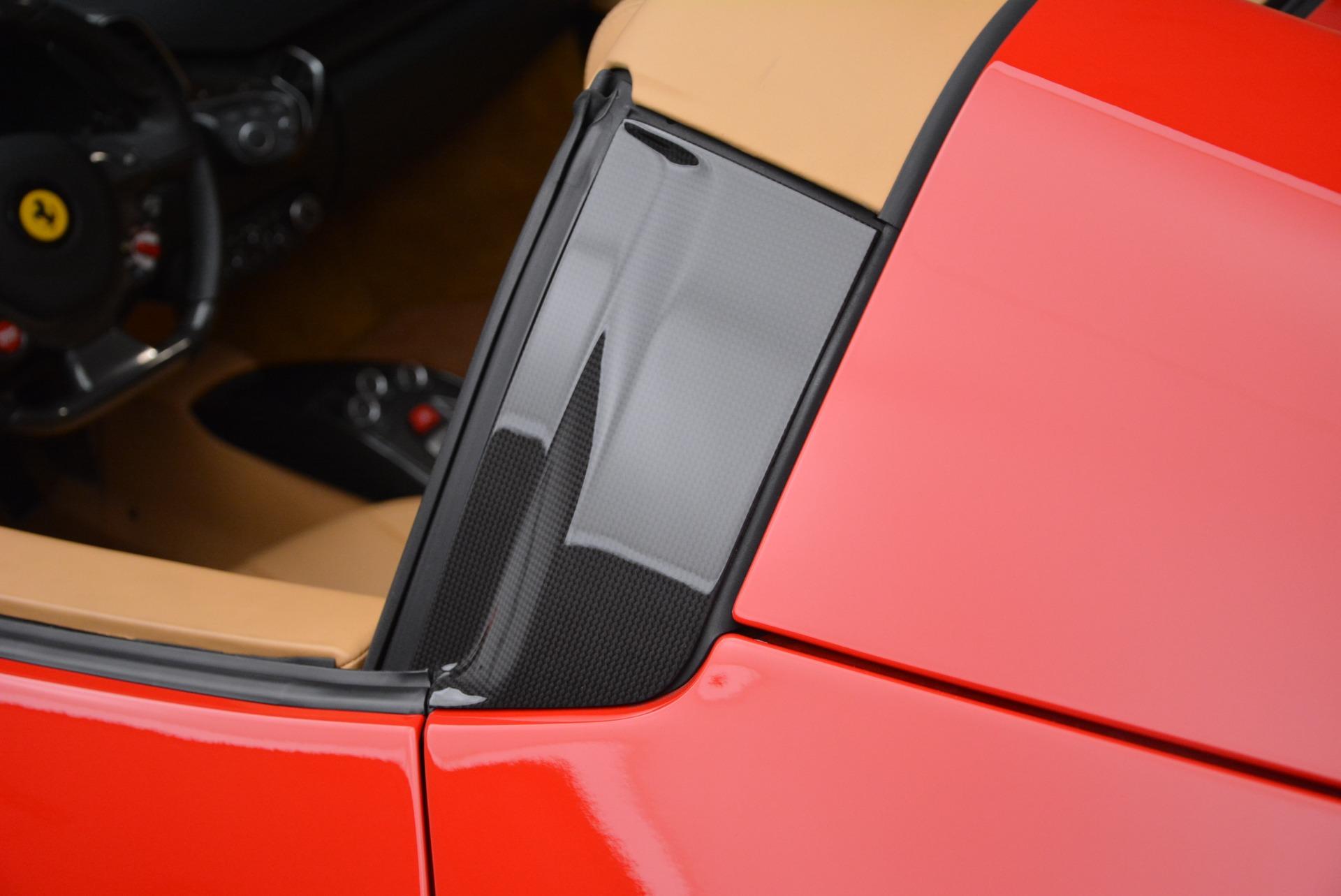 Used 2013 Ferrari 458 Spider  For Sale In Greenwich, CT. Alfa Romeo of Greenwich, F1891A 3057_p25