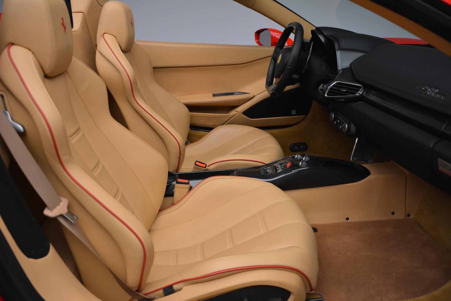 Used 2013 Ferrari 458 Spider  For Sale In Greenwich, CT. Alfa Romeo of Greenwich, F1891A 3057_p34