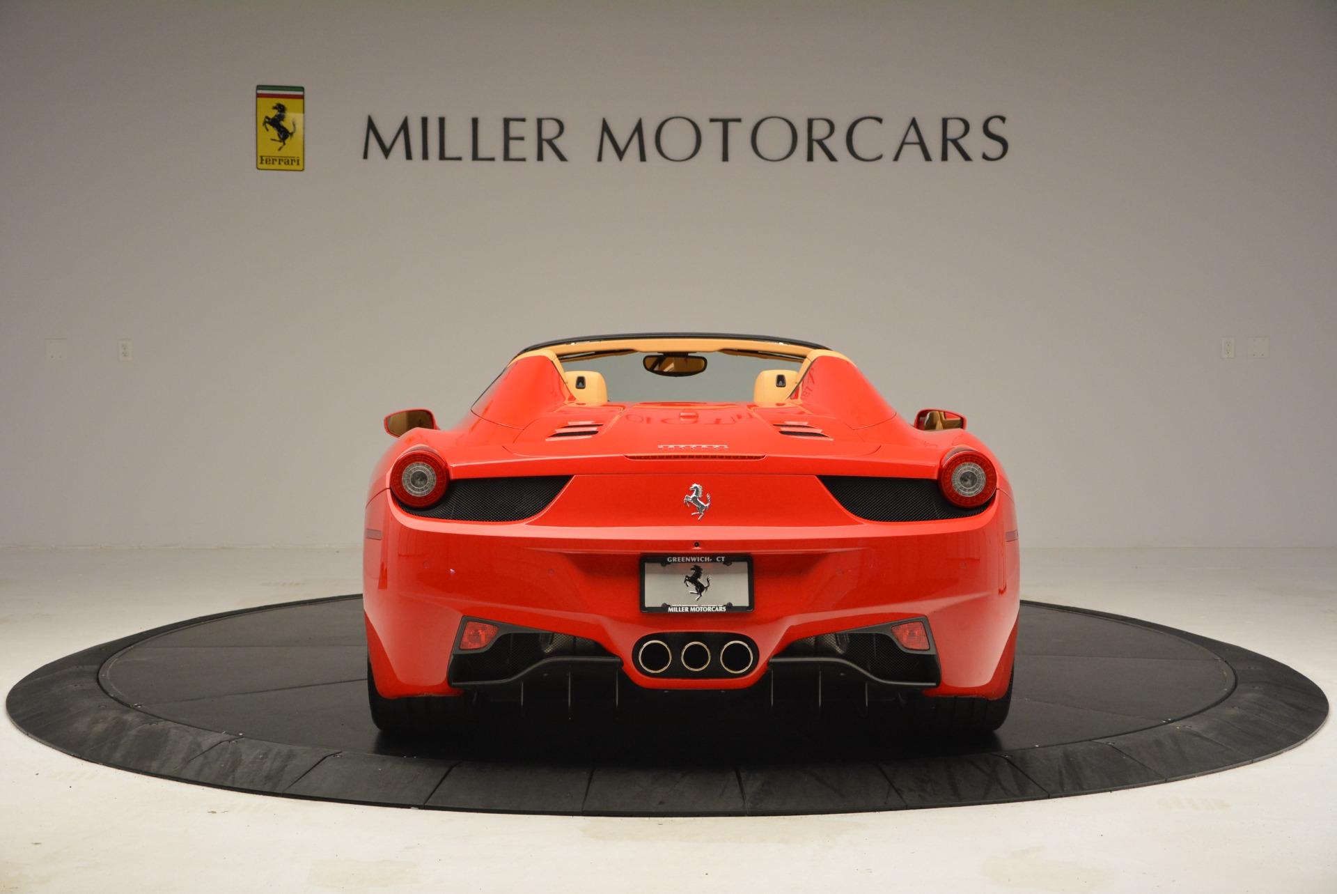 Used 2013 Ferrari 458 Spider  For Sale In Greenwich, CT. Alfa Romeo of Greenwich, F1891A 3057_p6