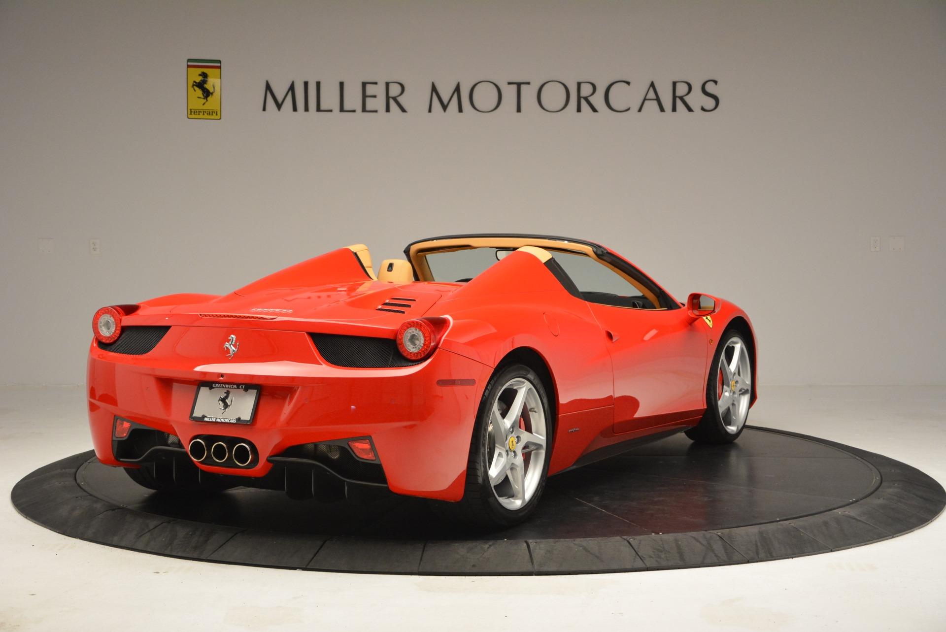 Used 2013 Ferrari 458 Spider  For Sale In Greenwich, CT. Alfa Romeo of Greenwich, F1891A 3057_p7