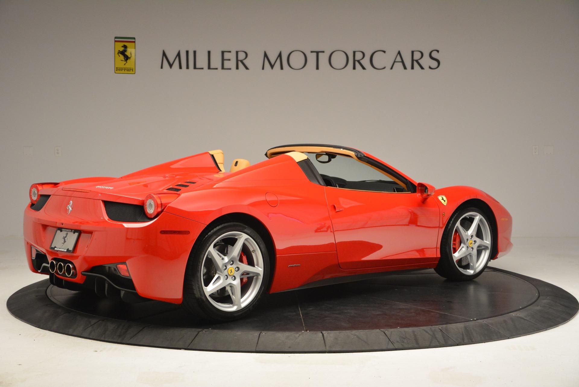 Used 2013 Ferrari 458 Spider  For Sale In Greenwich, CT. Alfa Romeo of Greenwich, F1891A 3057_p8