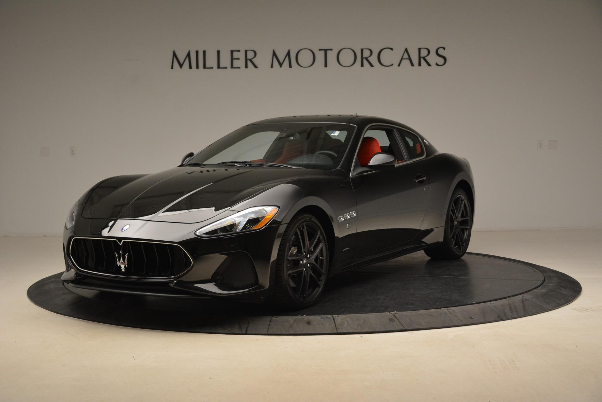New 2018 Maserati GranTurismo Sport For Sale In Greenwich, CT. Alfa Romeo of Greenwich, M2284 3059_main