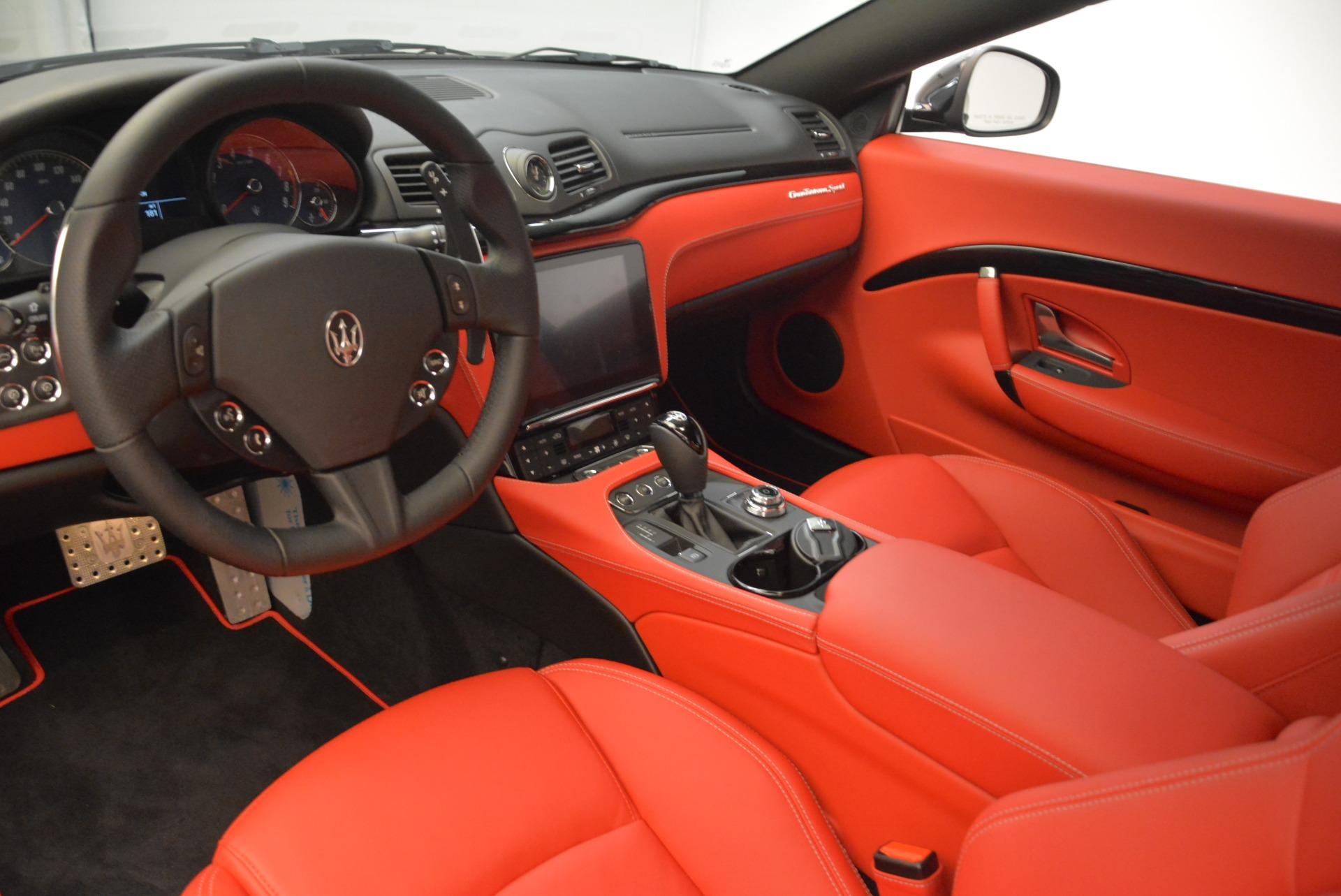 New 2018 Maserati GranTurismo Sport For Sale In Greenwich, CT. Alfa Romeo of Greenwich, M2284 3059_p12