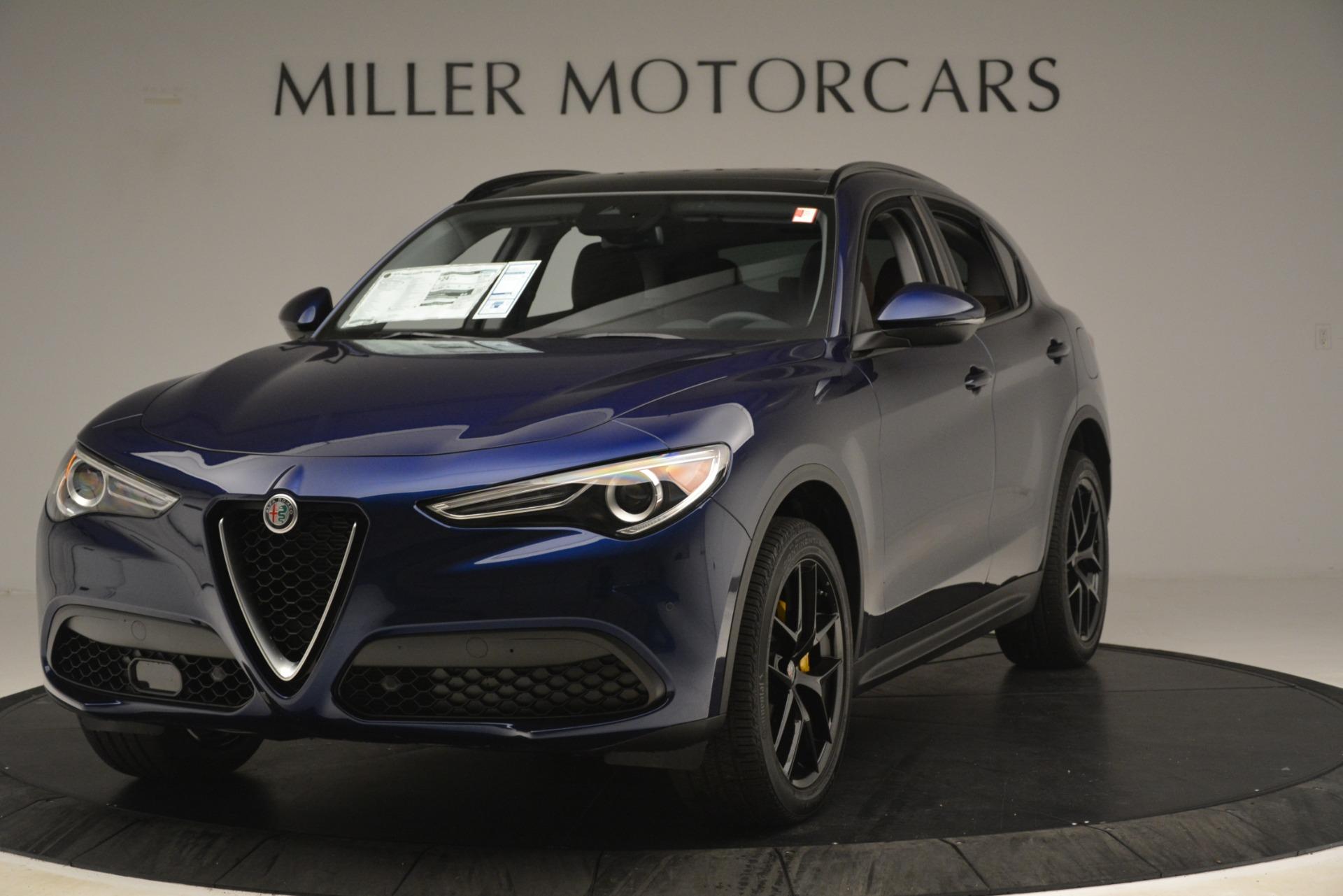 New 2019 Alfa Romeo Stelvio Sport Q4 For Sale In Greenwich, CT. Alfa Romeo of Greenwich, L597 3060_main