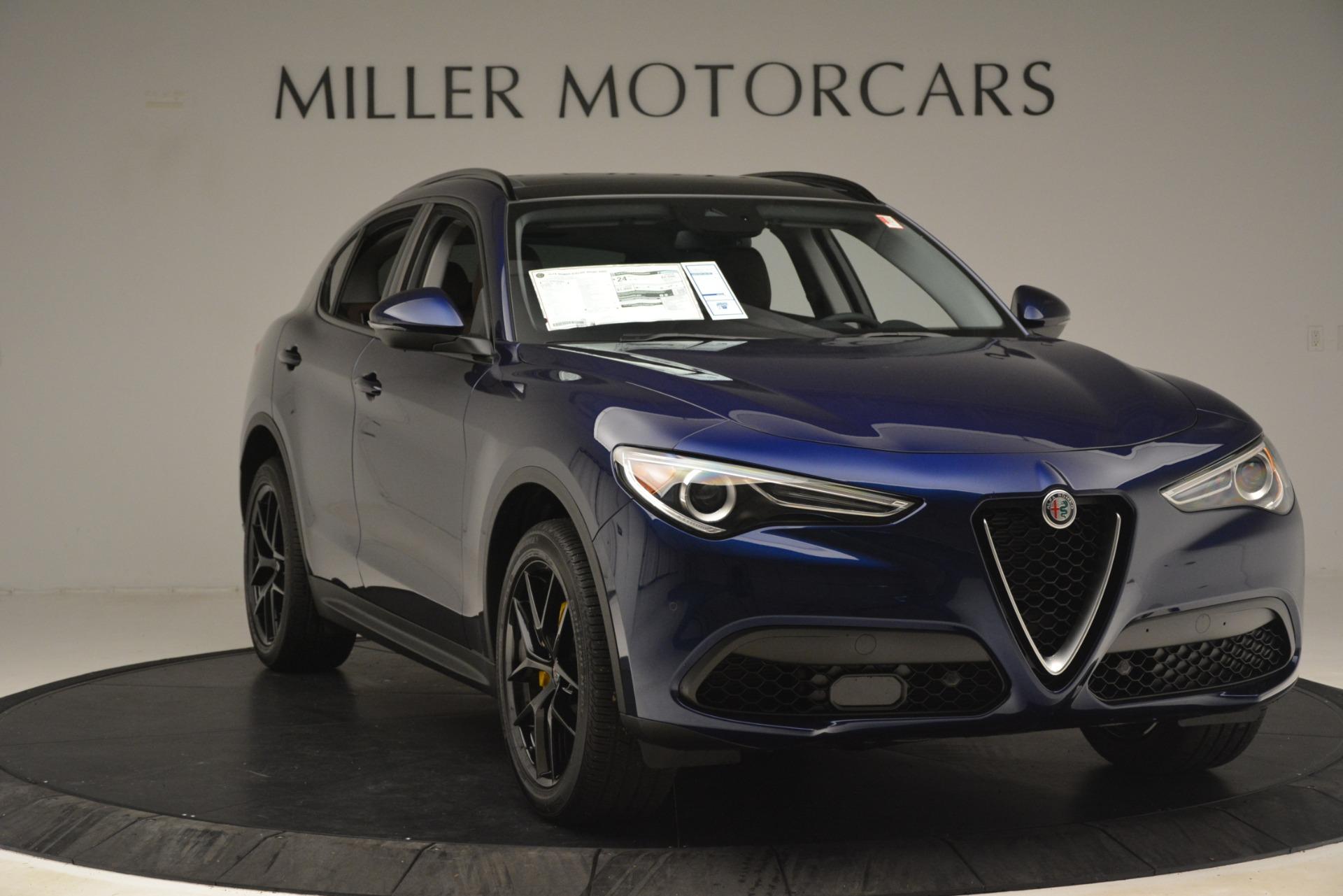 New 2019 Alfa Romeo Stelvio Sport Q4 For Sale In Greenwich, CT. Alfa Romeo of Greenwich, L597 3060_p11