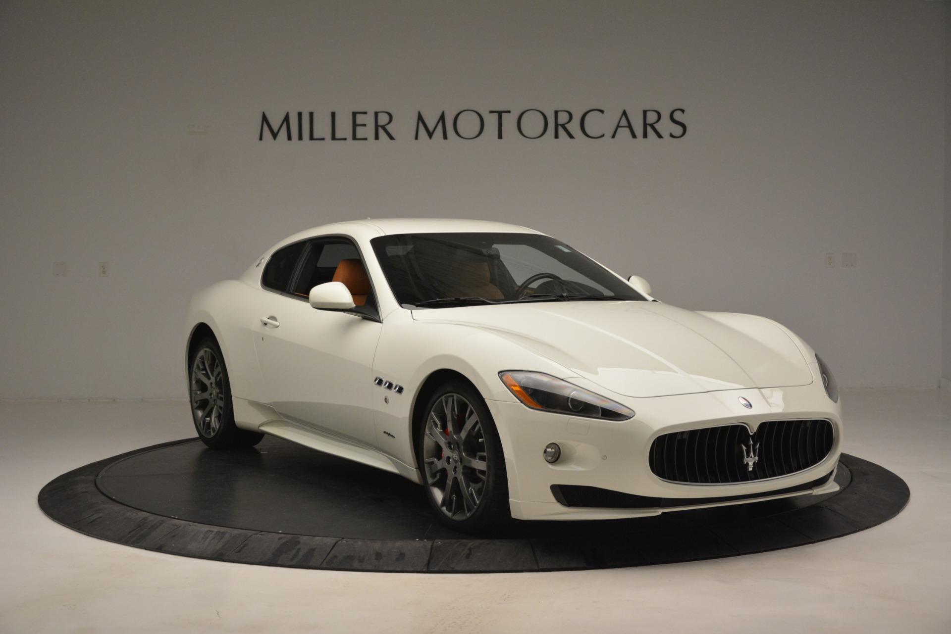 Used 2011 Maserati GranTurismo S Automatic For Sale $49900 In Greenwich, CT 3061_p12