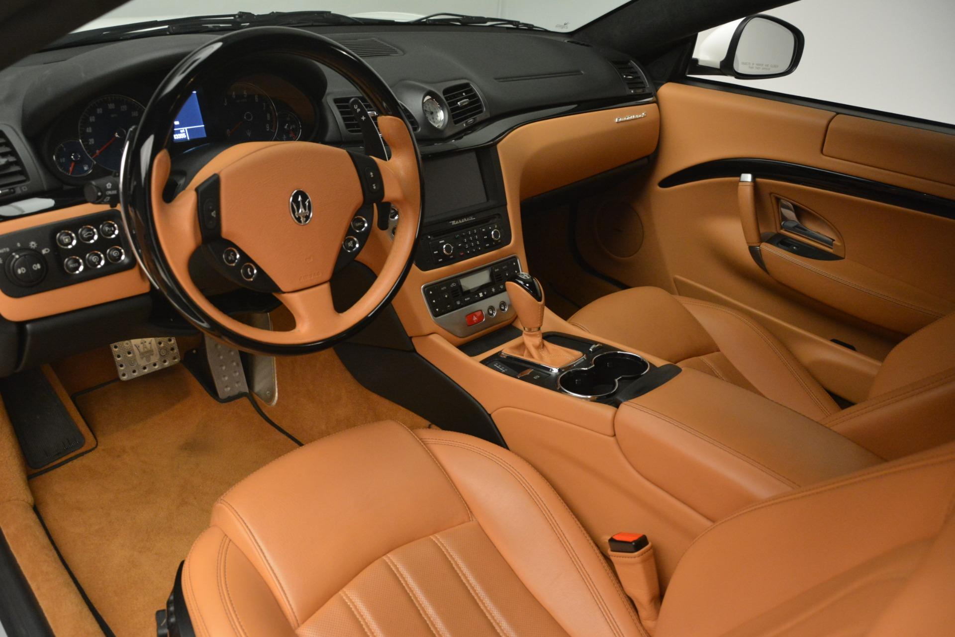 Used 2011 Maserati GranTurismo S Automatic For Sale $49900 In Greenwich, CT 3061_p13
